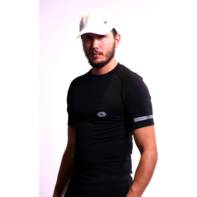 Boss Erkek Siyah Spor Tişört