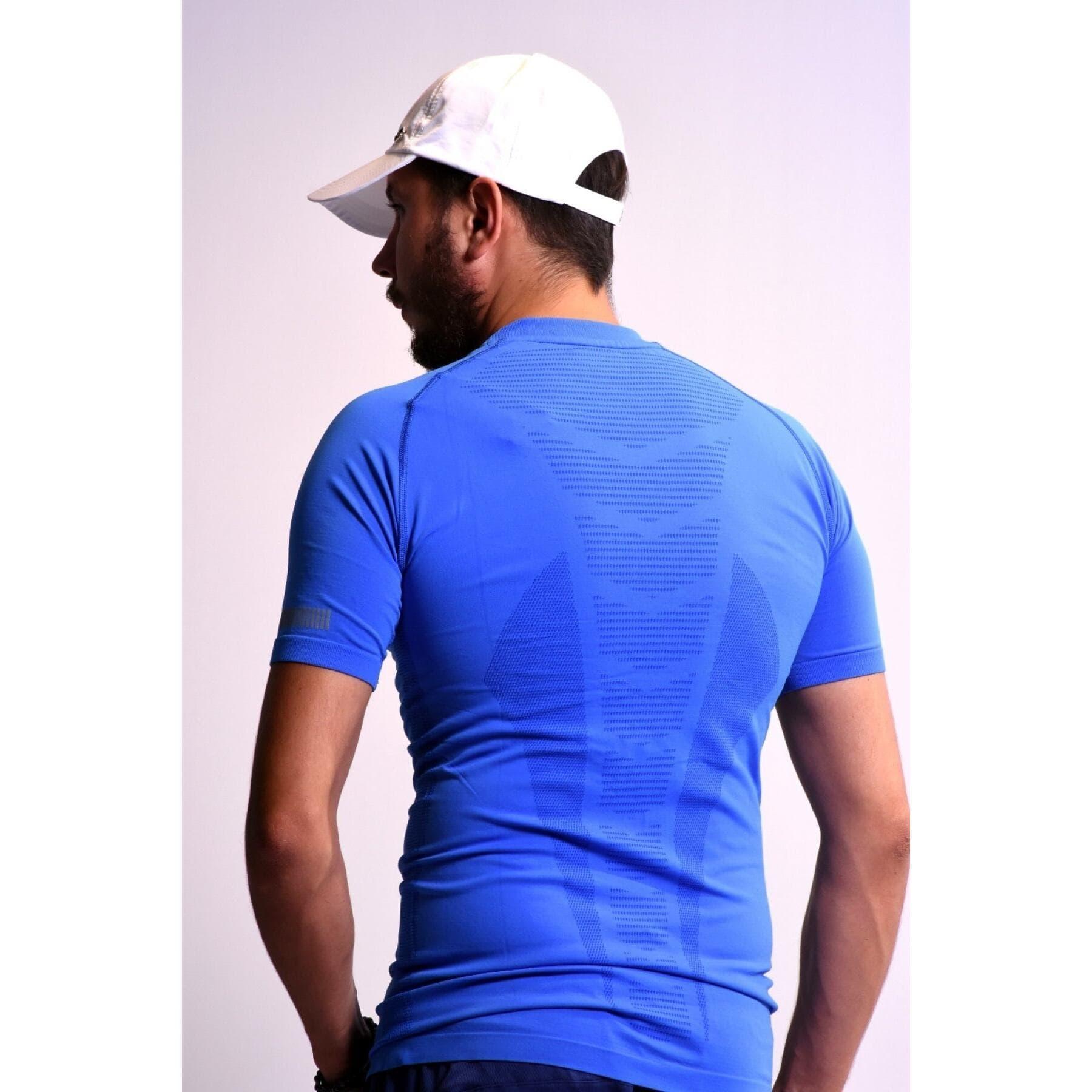 Boss Tee Sml Erkek Mavi Spor Tişört (R2364)