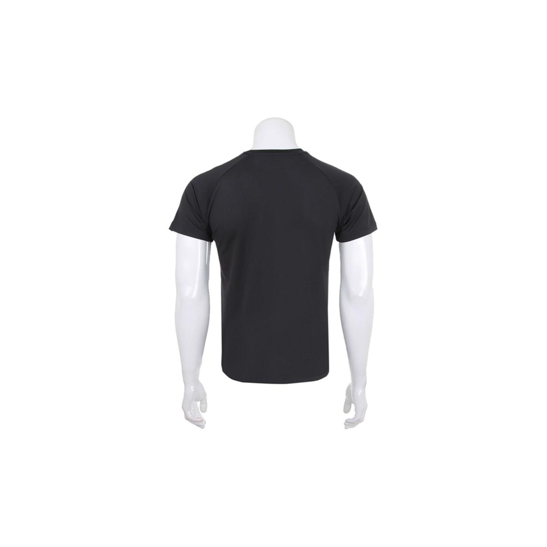Denise Erkek Siyah Antrenman Tişörtü
