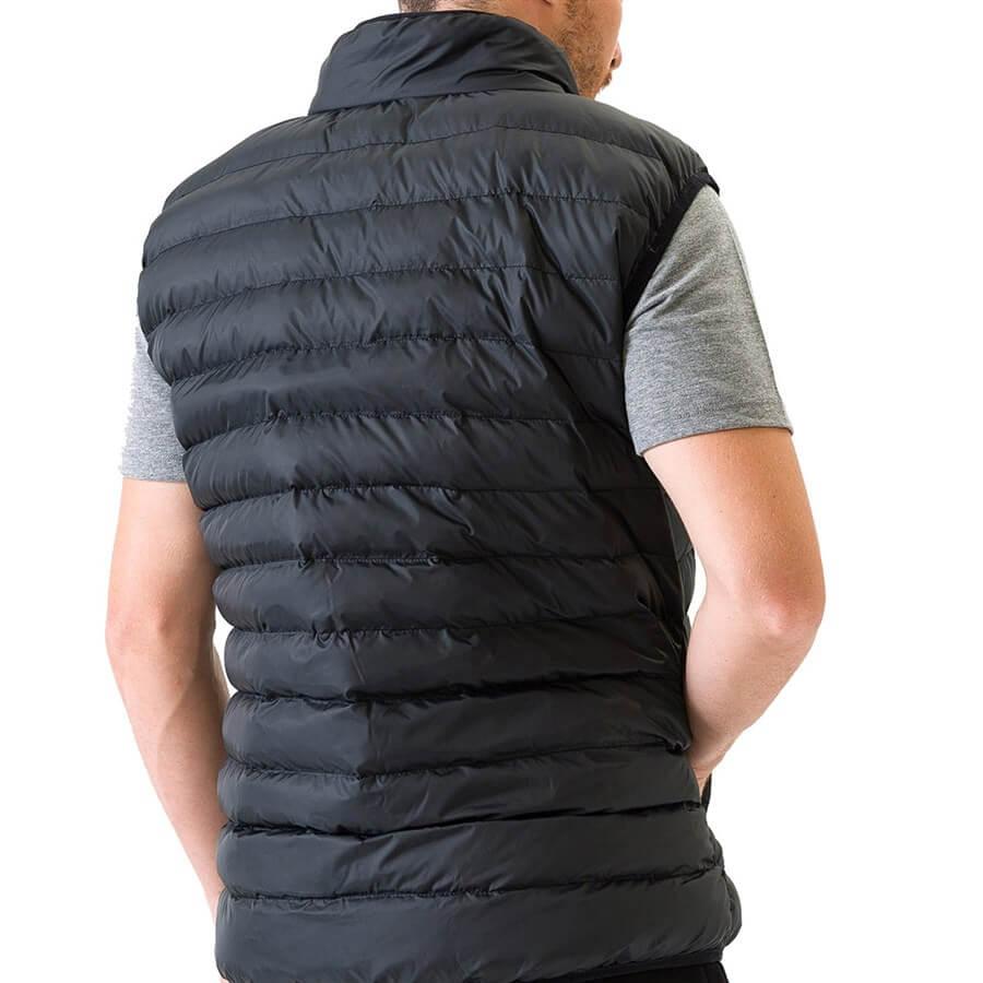 Outerwear Lightweight Erkek Siyah Şişme Yelek