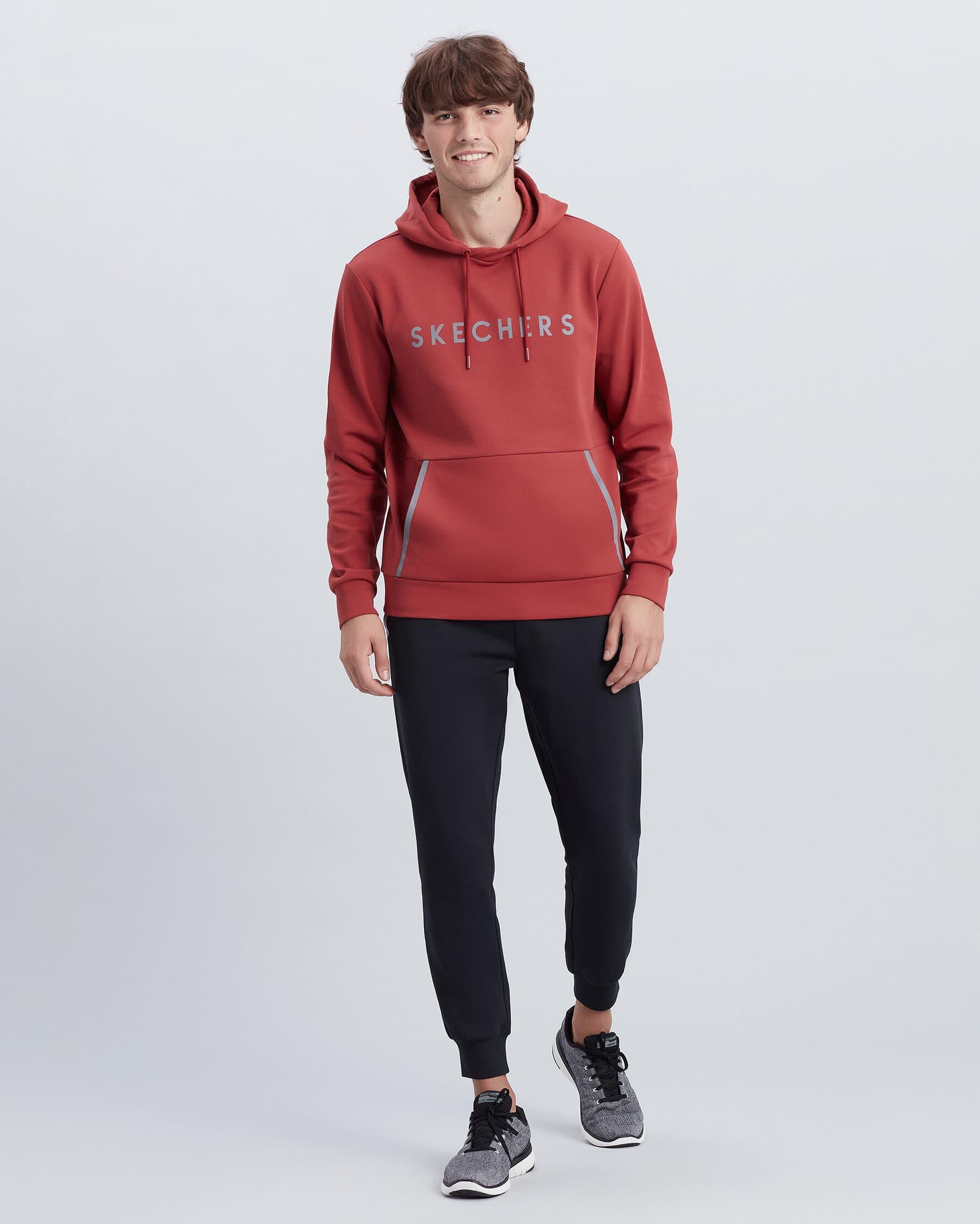Flexi Erkek Kırmızı Kapüşonlu Sweatshirt (S212254-621)