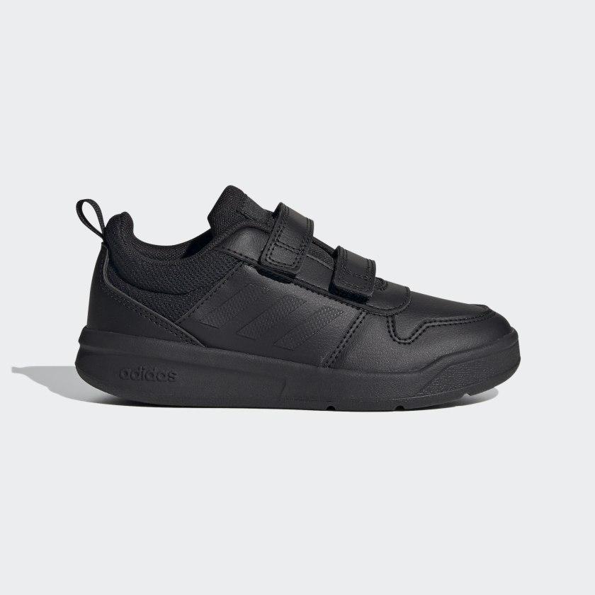 adidas Tensaur Çocuk Siyah Spor Ayakkabı (S24048)