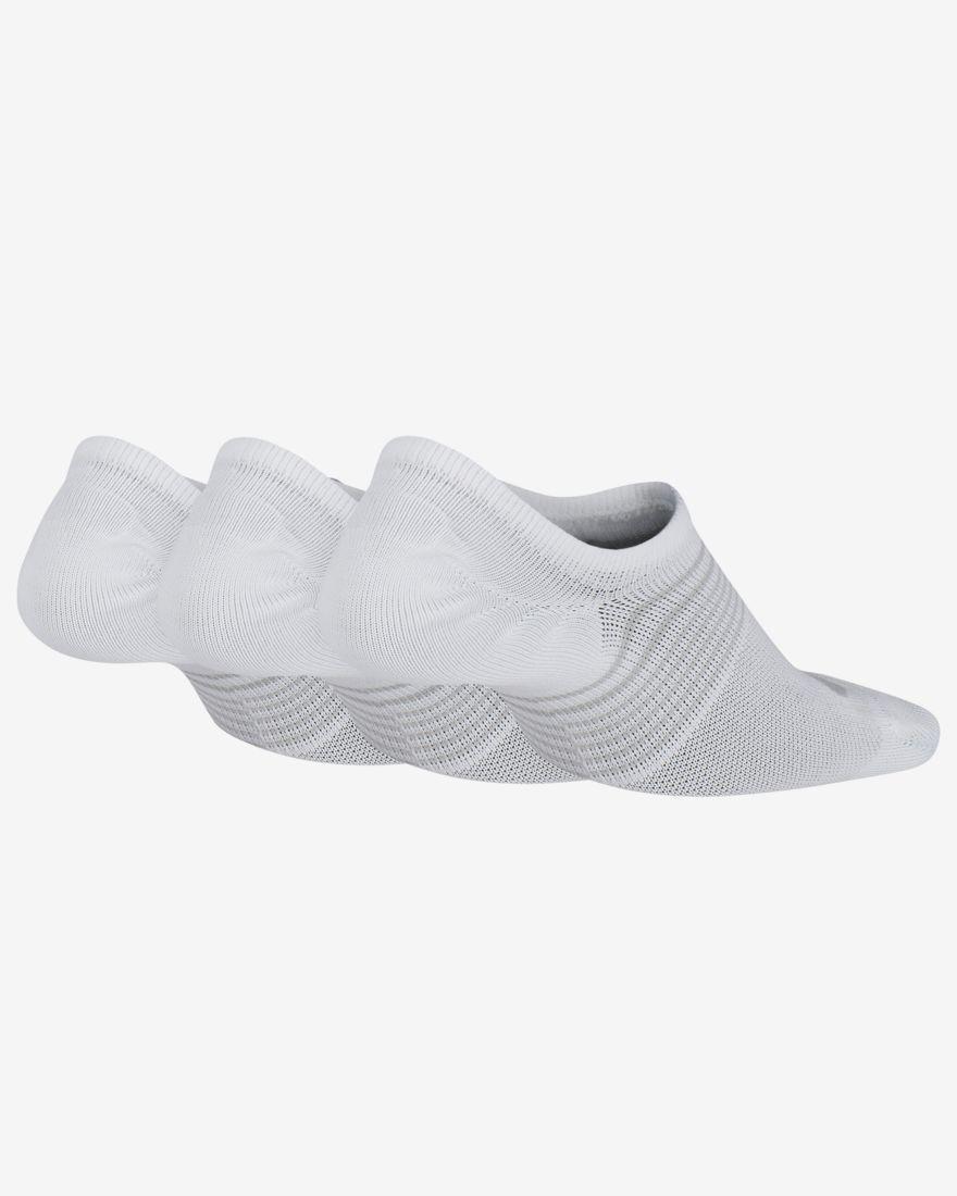 Everyday Lightweight 3'lü Beyaz Spor Çorap