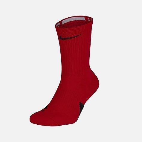 Elite Crew Erkek Kırmızı Basketbal Çorabı (SX7622-657)