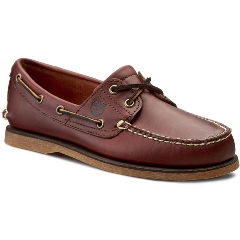 Classic Boat 2 Eye Erkek Kahverengi Günlük Ayakkabı