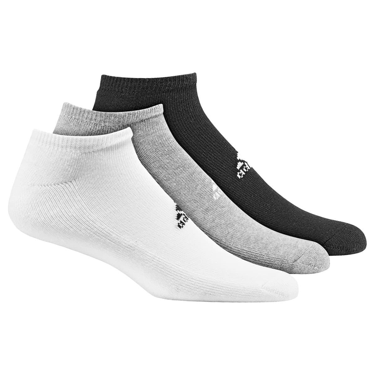 Adiliner Hc 3'lü Siyah Beyaz Gri Spor Çorap