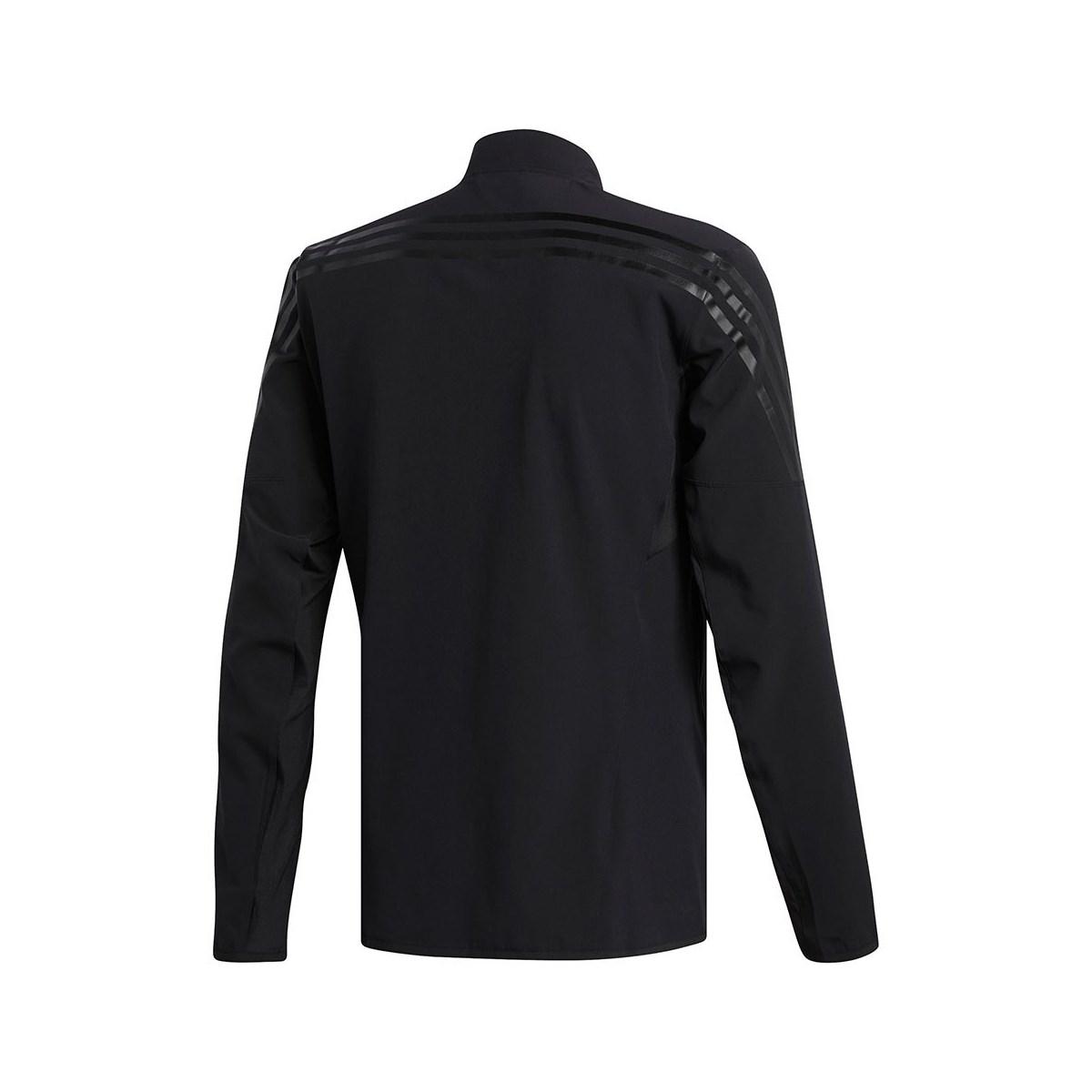Aeroready 3-Stripes Erkek Siyah Spor Ceket