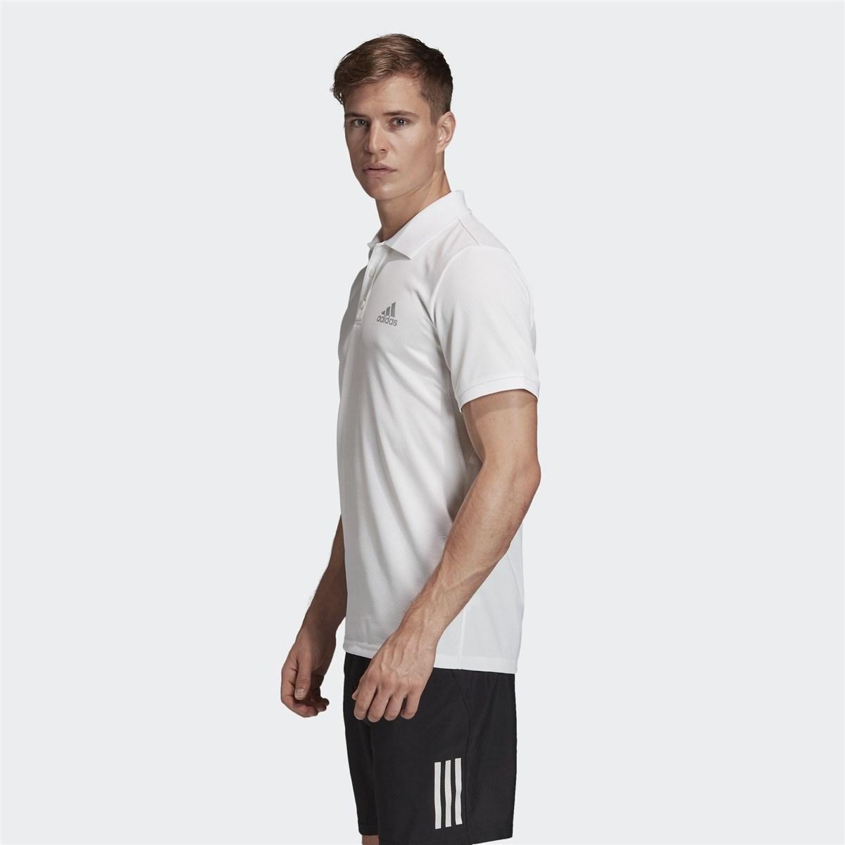 Club Solid Erkek Beyaz Polo Tişört