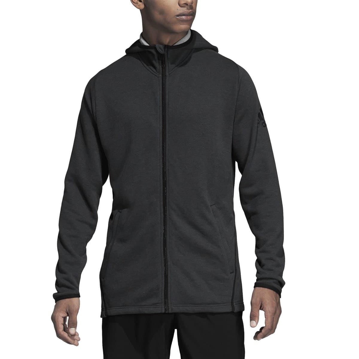 adidas FreeLift Prime Erkek Gri Sweatshirt