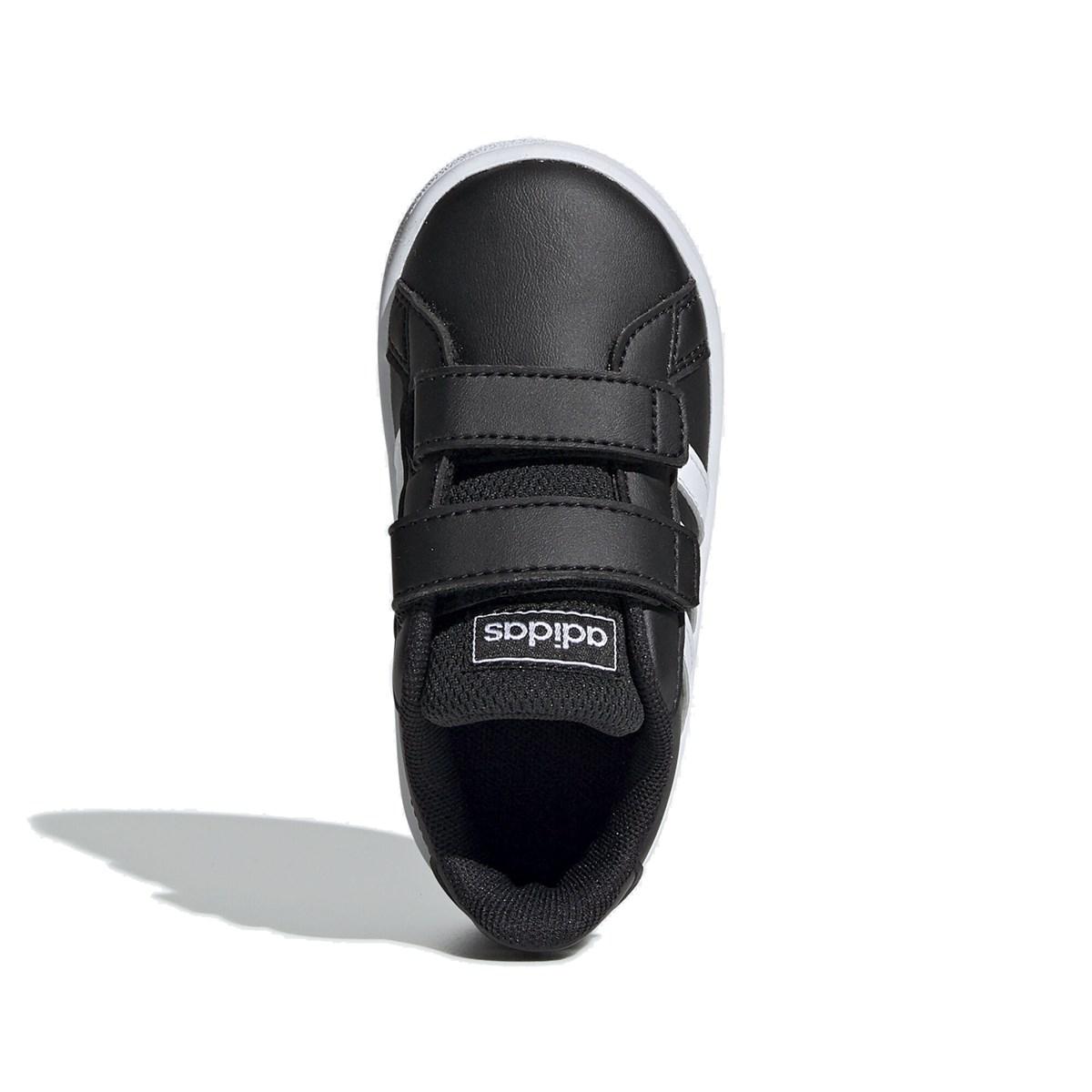 Grand Court I Çocuk Siyah Spor Ayakkabı (EF0117)