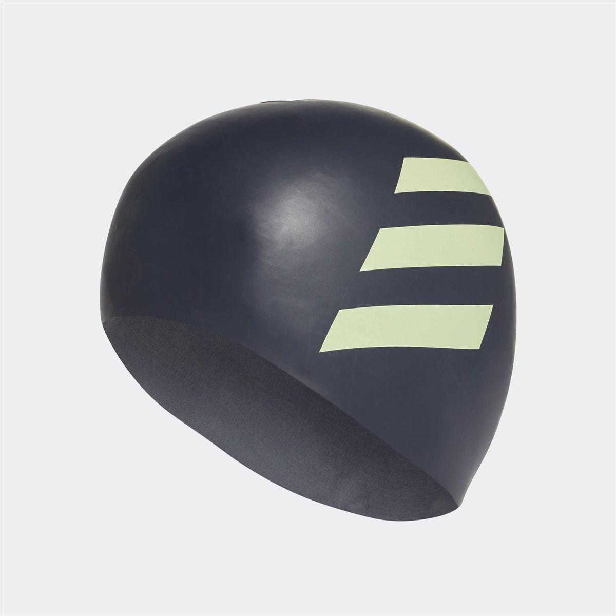 3 Bantlı Çocuk Siyah Slikon Yüzücü Bonesi (FJ4976)