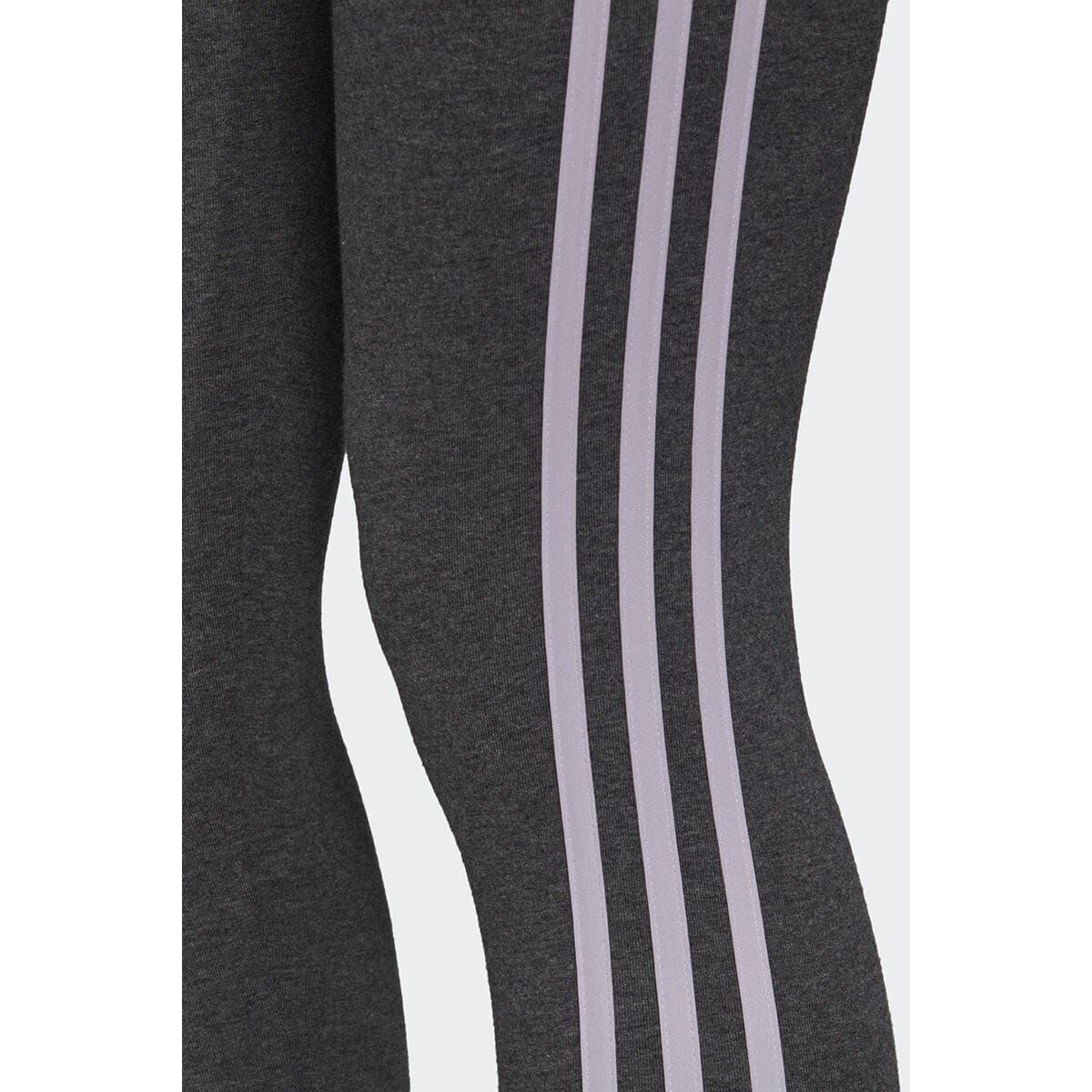 adidas Essentials 3 Bantlı Kadın Gri Tayt (FM6699)