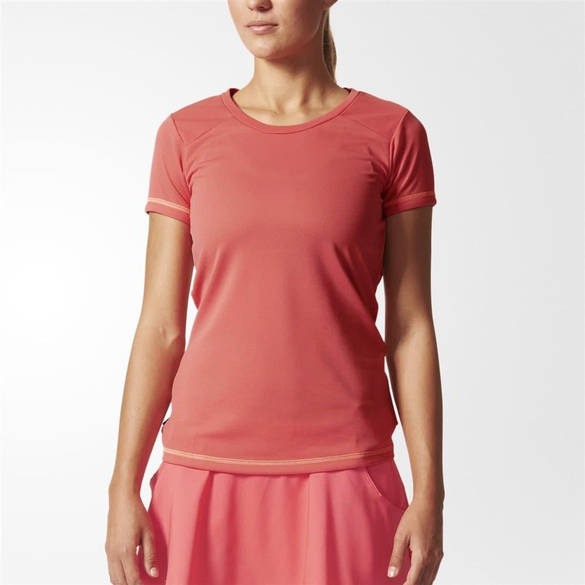 adidas Fleur Kadın Pembe Spor Tişört (AJ3921)