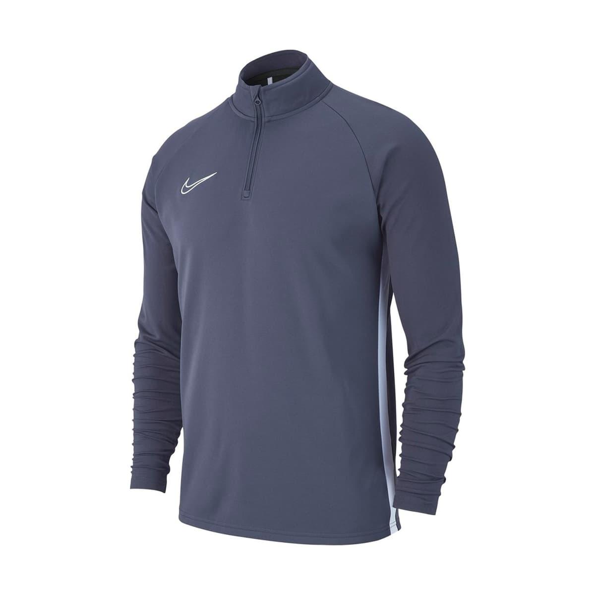 Dry Academy 19 Erkek Gri Sweatshirt (AJ9094-060)