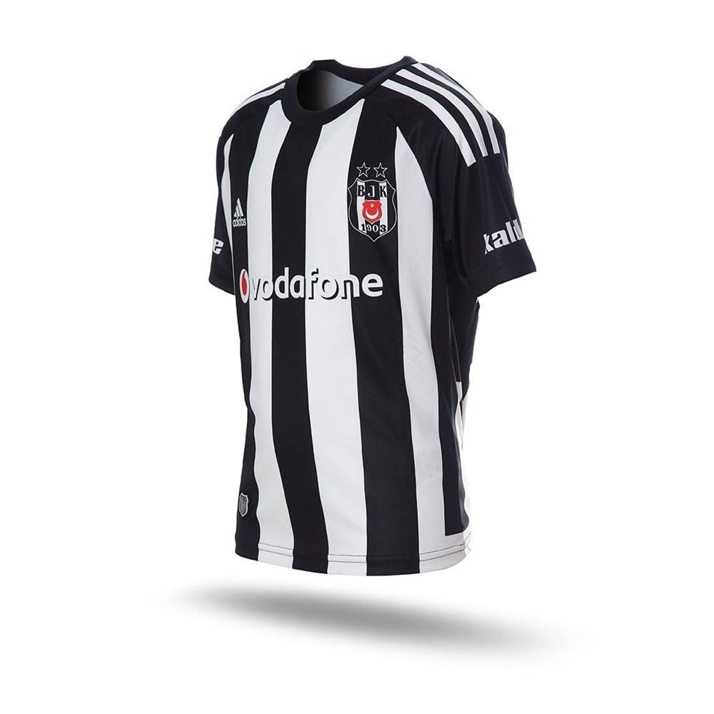 Beşiktaş Çocuk Siyah Deplasman Çubuklu Forması