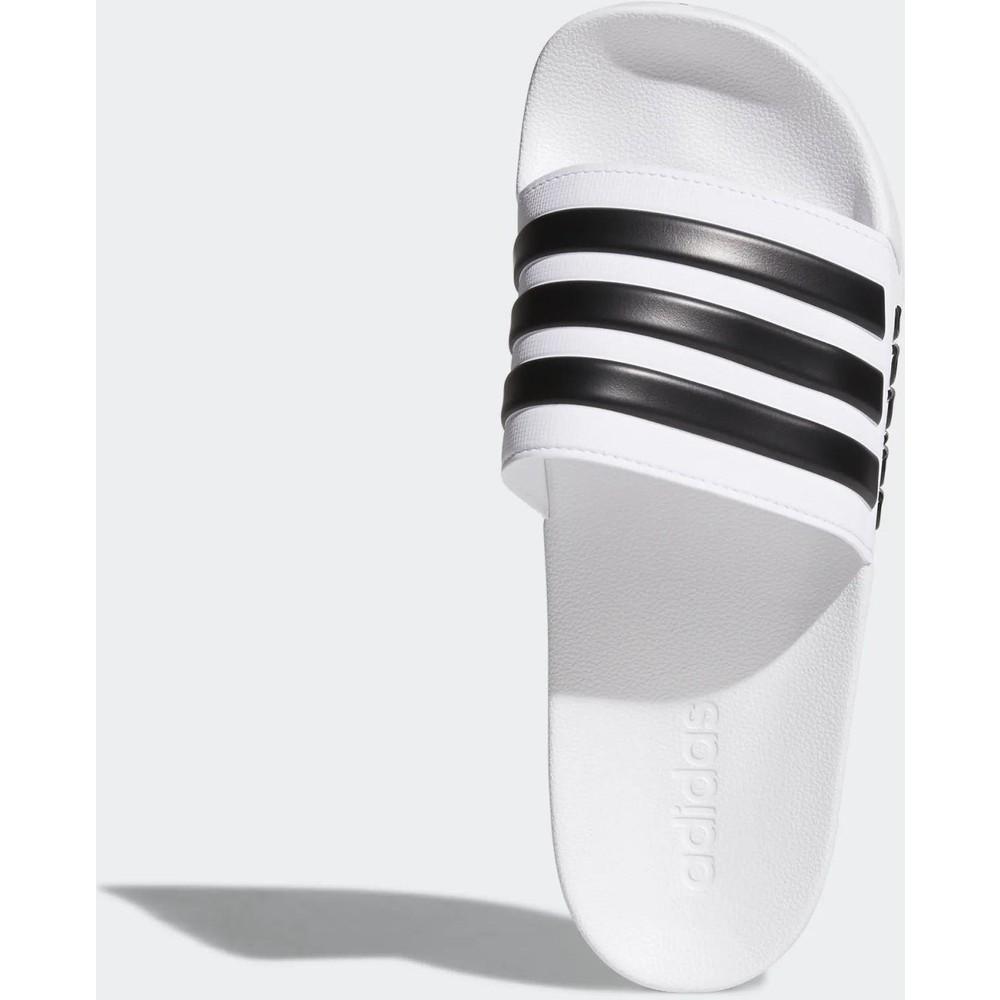 Adilette Shower Erkek Beyaz Spor Terlik