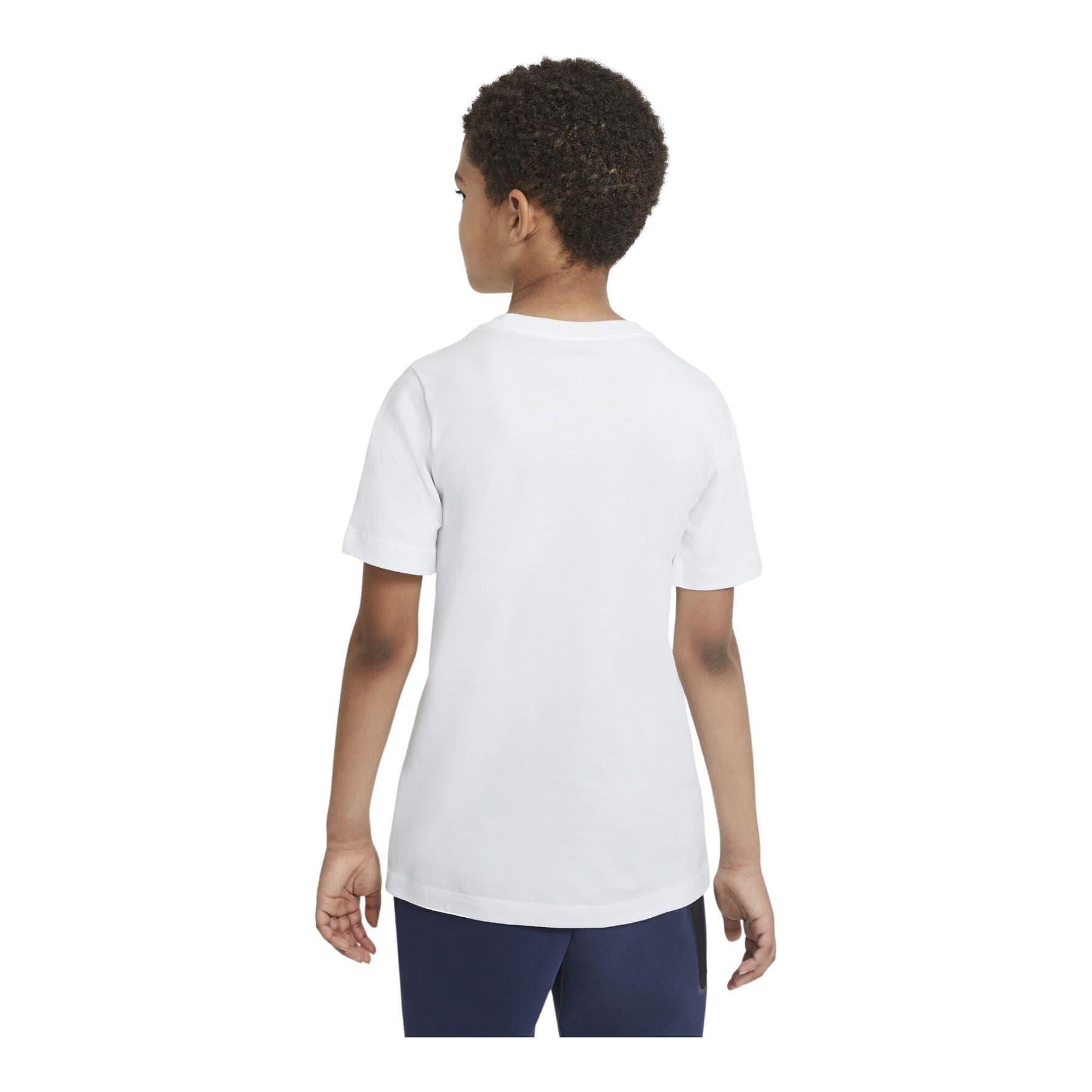 Futura İcon Çocuk Beyaz Spor Tişört (AR5252-107)