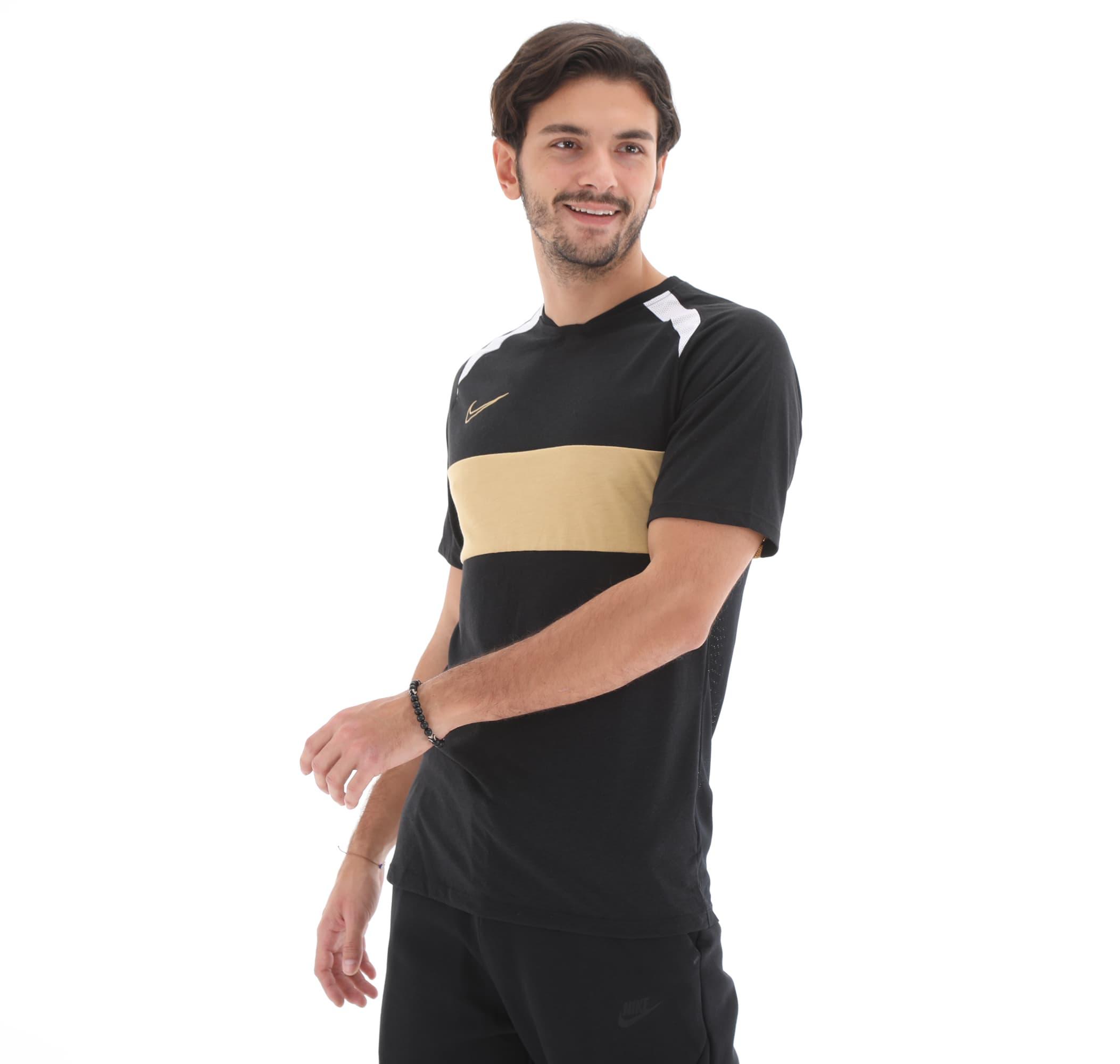 Dri-Fit Academy Erkek Siyah Futbol Tişört  (BQ7352-010)
