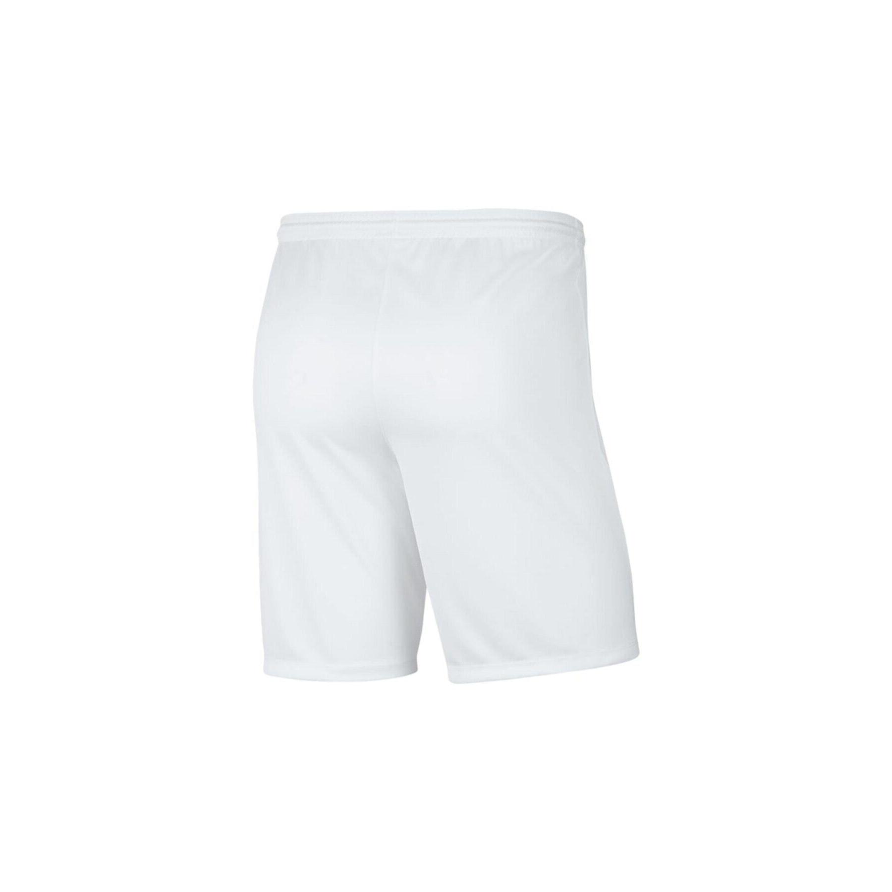 Dri-Fit Park III Erkek Beyaz Futbol Şortu (BV6855-100)