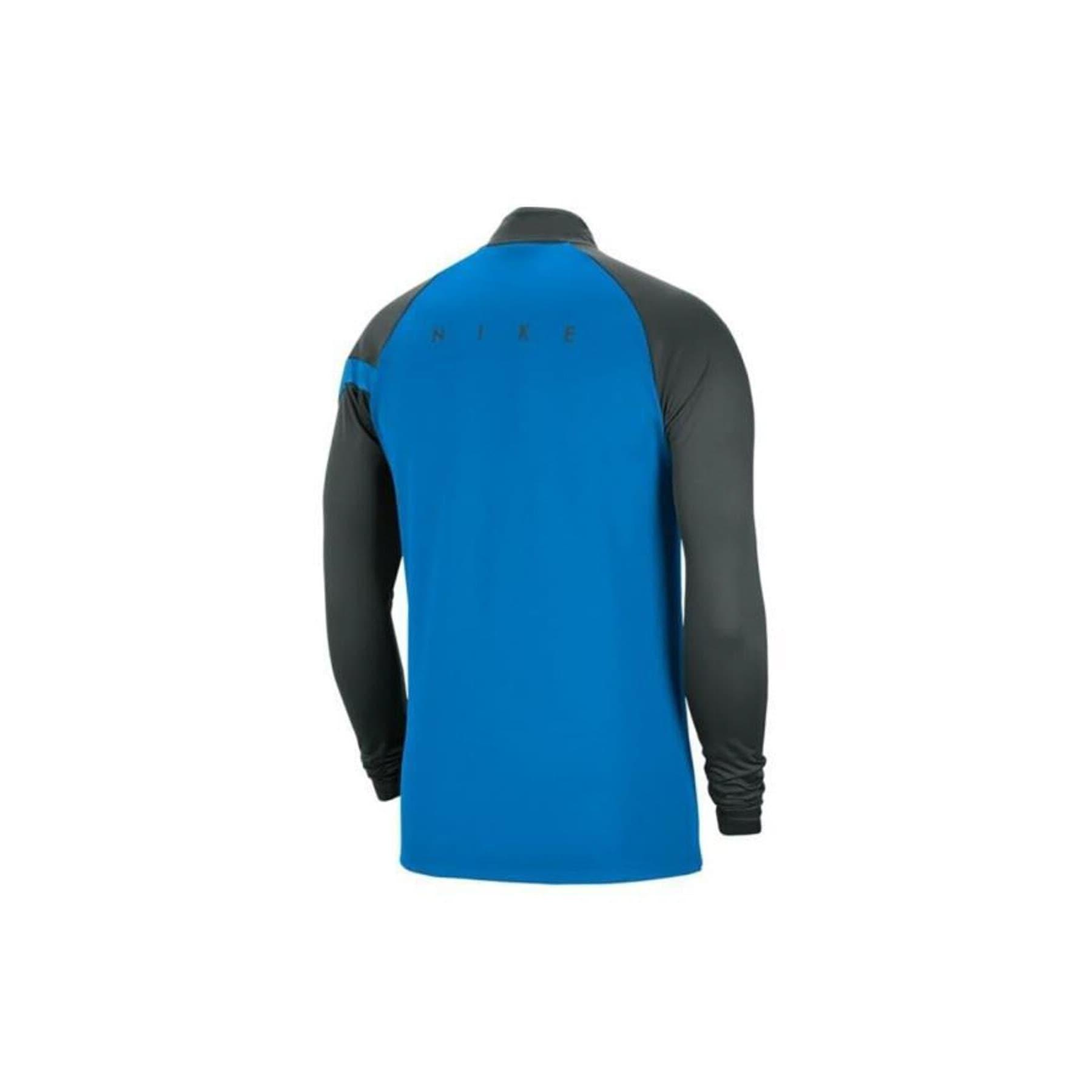 Academy Pro Drill Erkek Mavi Uzun Kollu Tişört (BV6916-406)