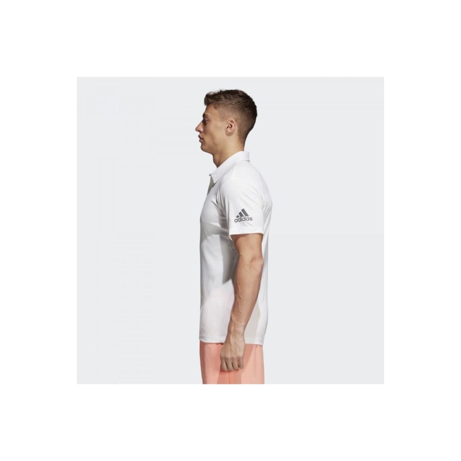 Climachill Polo Yaka Erkek Beyaz Tişört (CD3200)