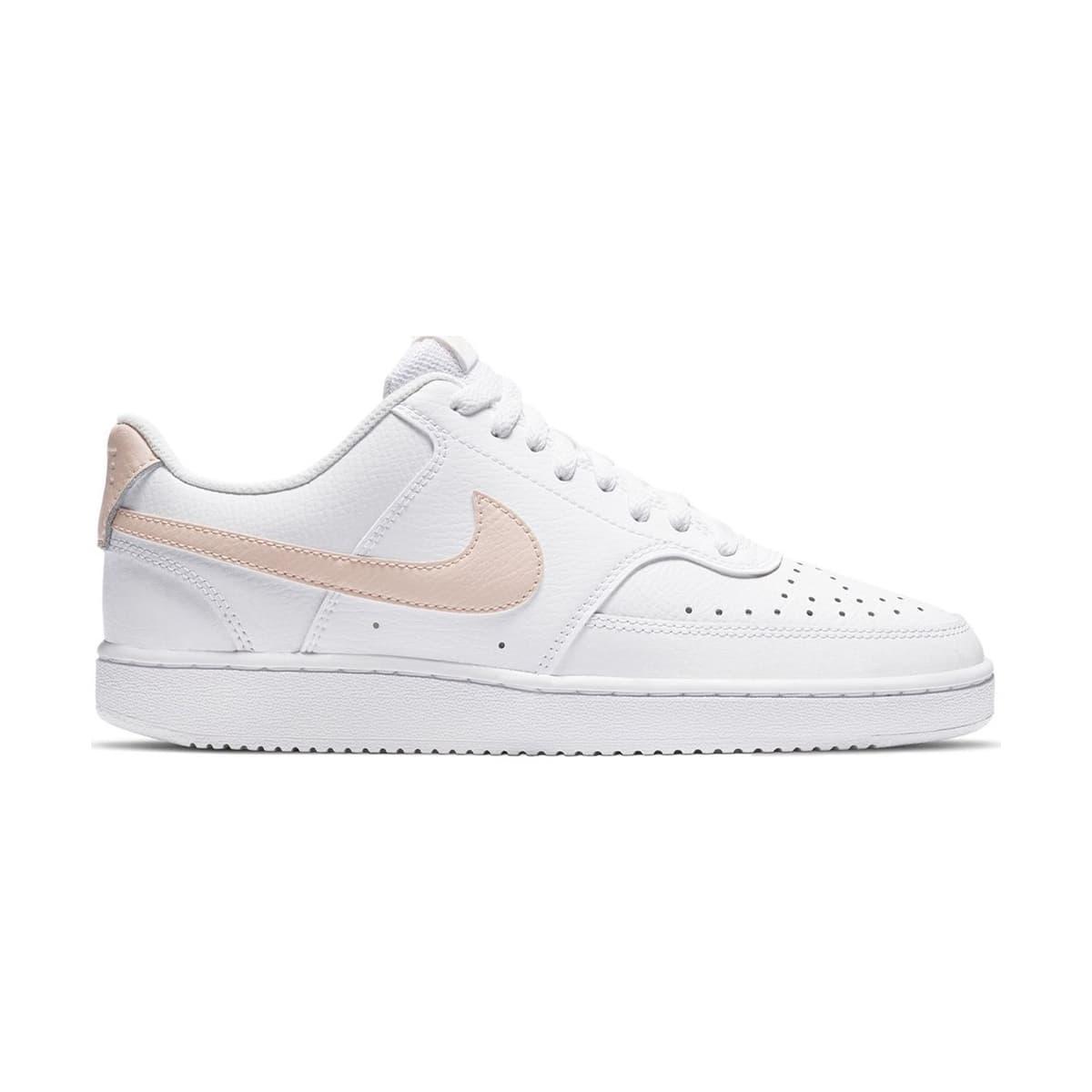 Court Vision Low Kadın Beyaz Spor Ayakkabı(CD5434-107)