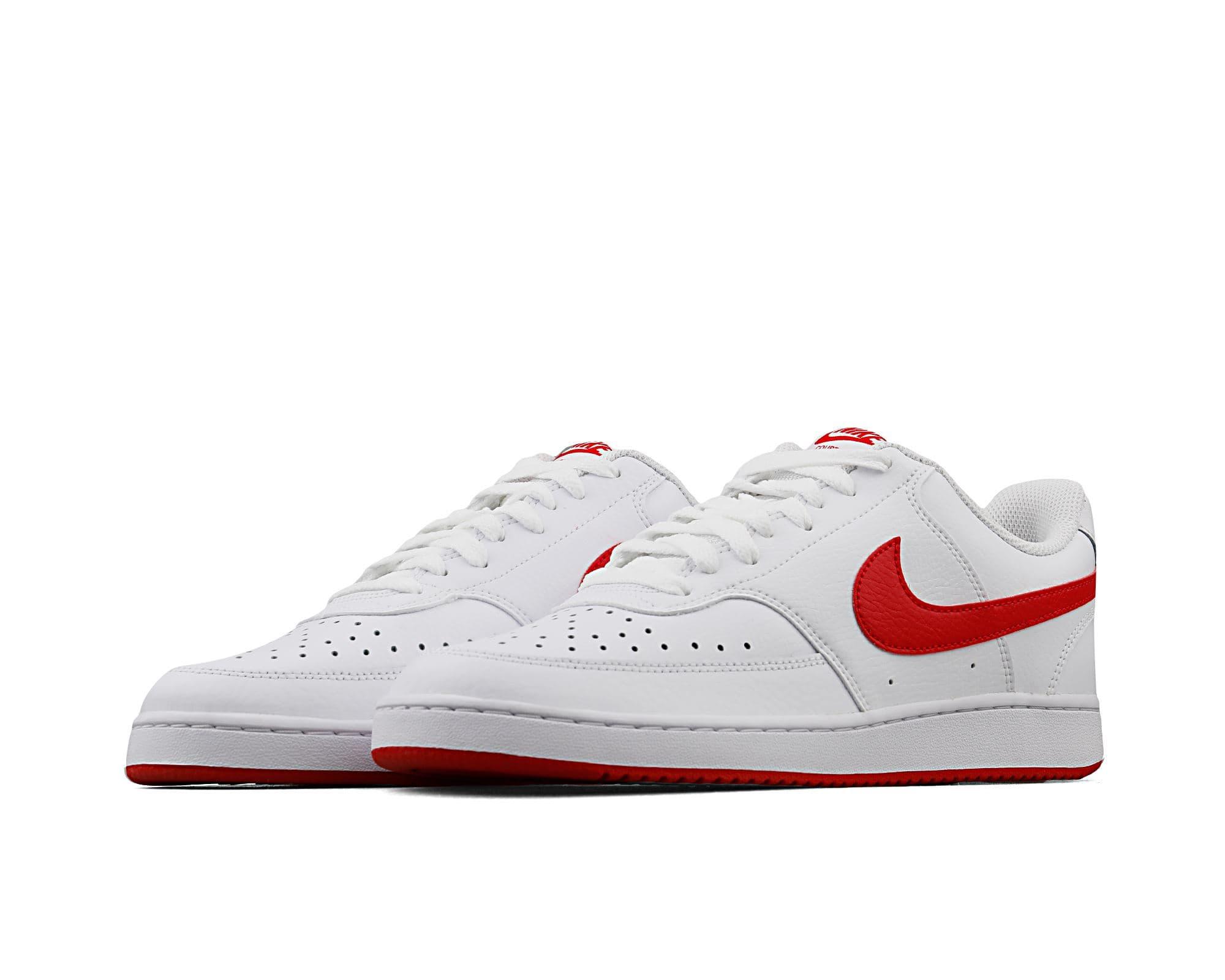 Court Vision Low Erkek Beyaz Spor Ayakkabı (CD5463-102)