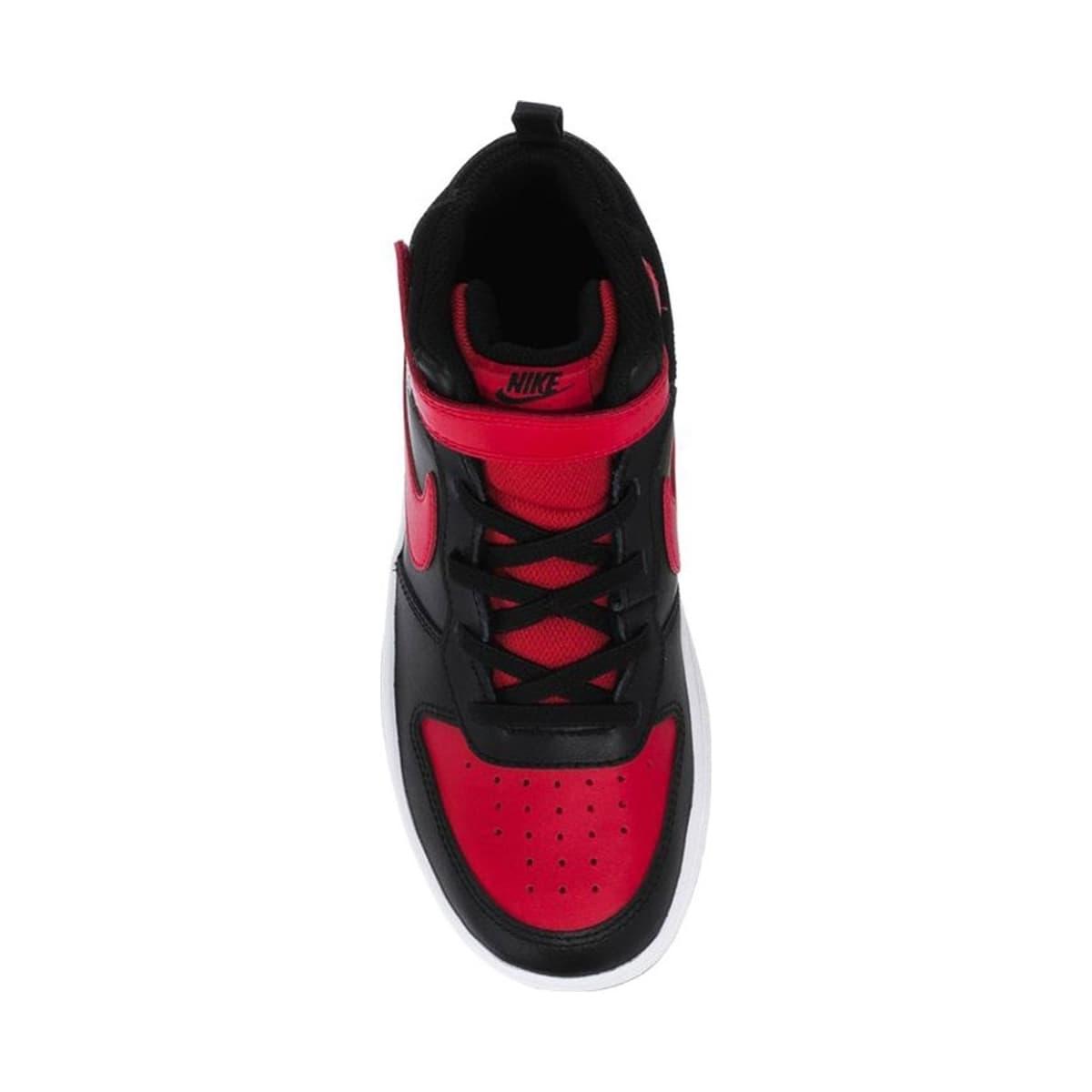 Court Borough Mid 2 Çocuk Siyah Basketbol Ayakkabısı (CD7783-003)
