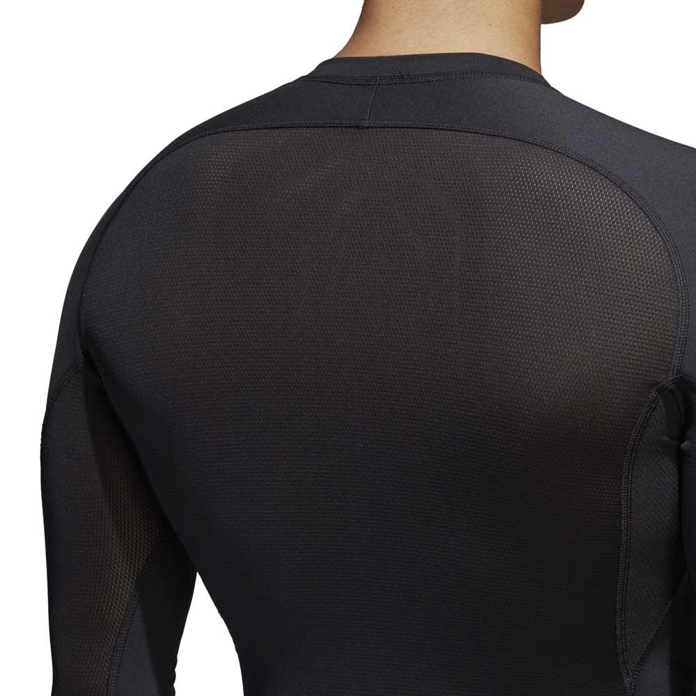 Alphaskin Sport Erkek Siyah Uzun Kollu Üst