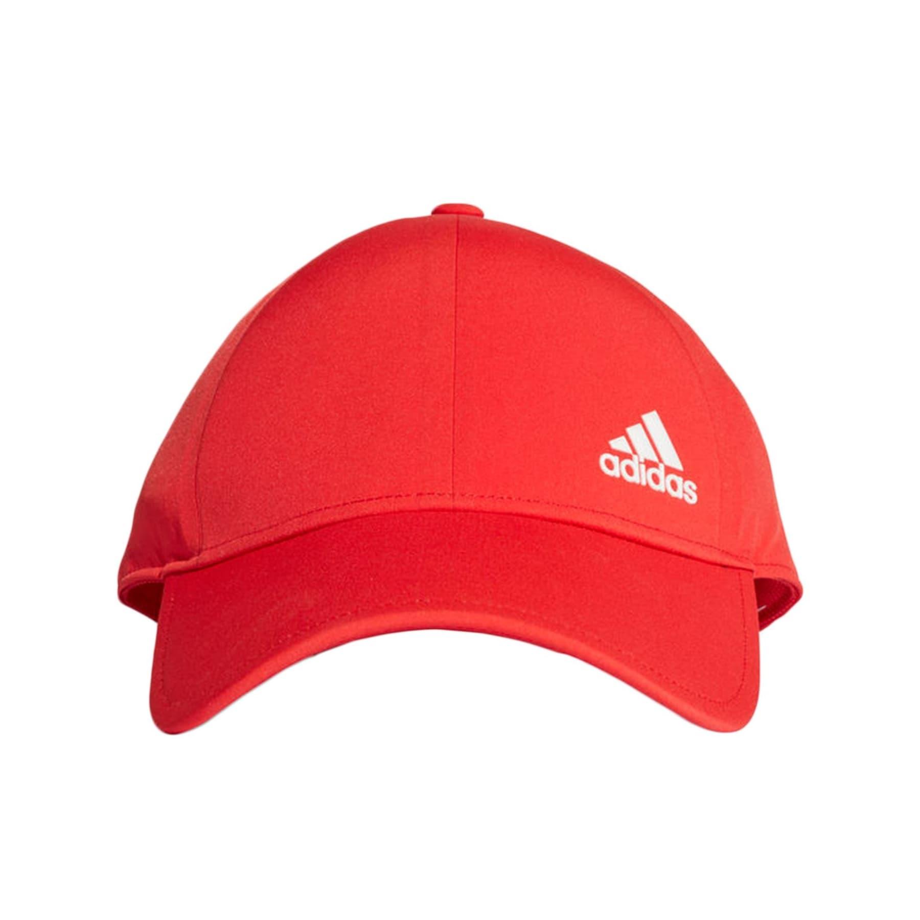 Bonded Cap Ayarlanabilir Kırmızı Spor Şapka
