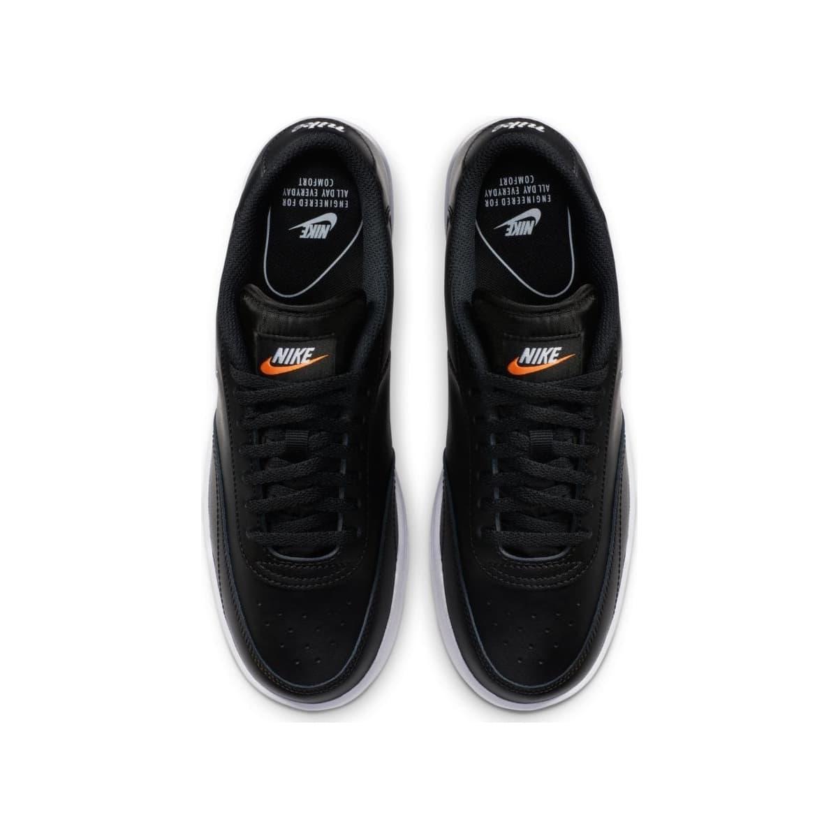 Court Vintage Kadın Siyah Tenis Ayakkabısı (CJ1676-001)