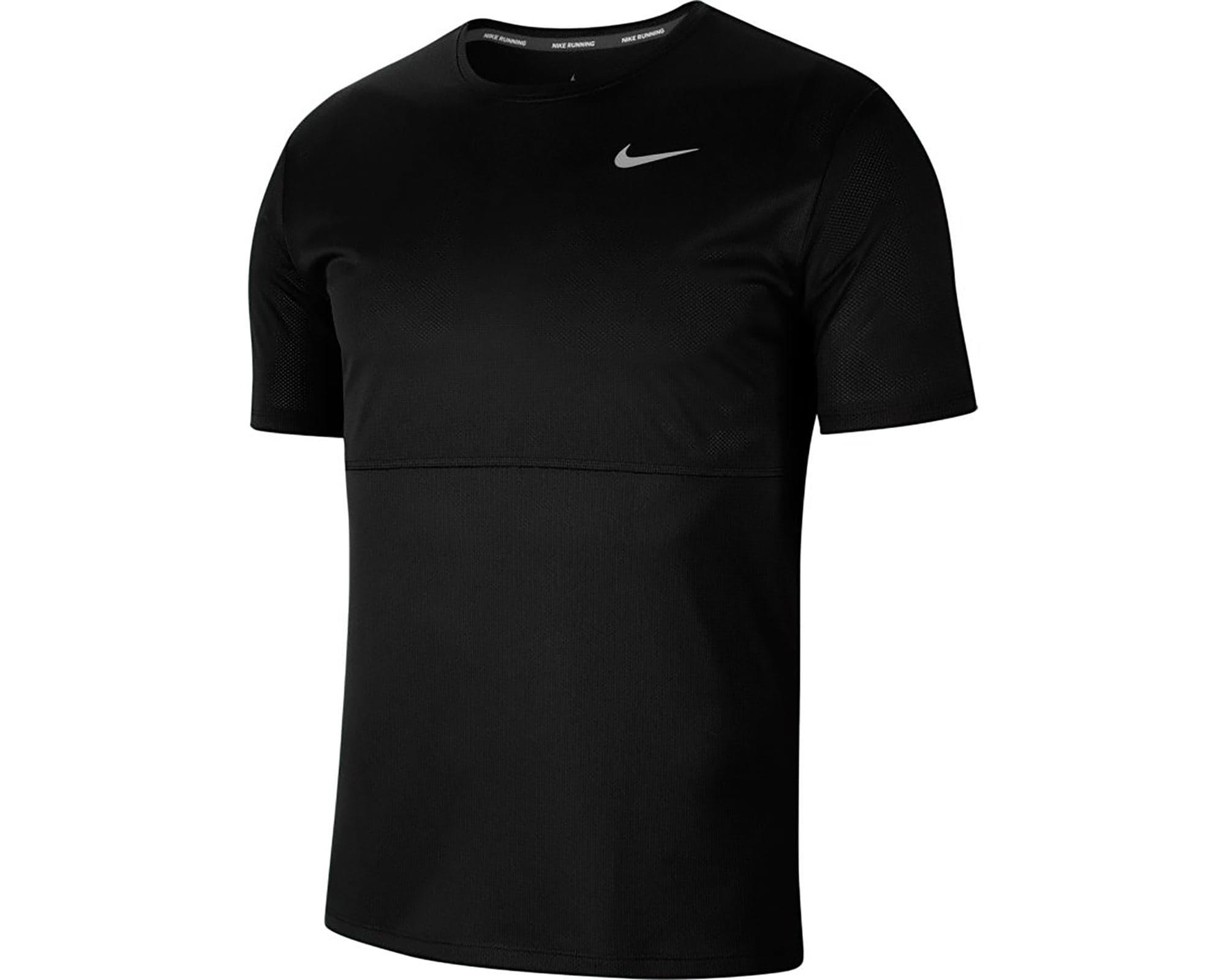 Breathe Erkek Siyah Koşu Tişörtü (CJ5332-010)