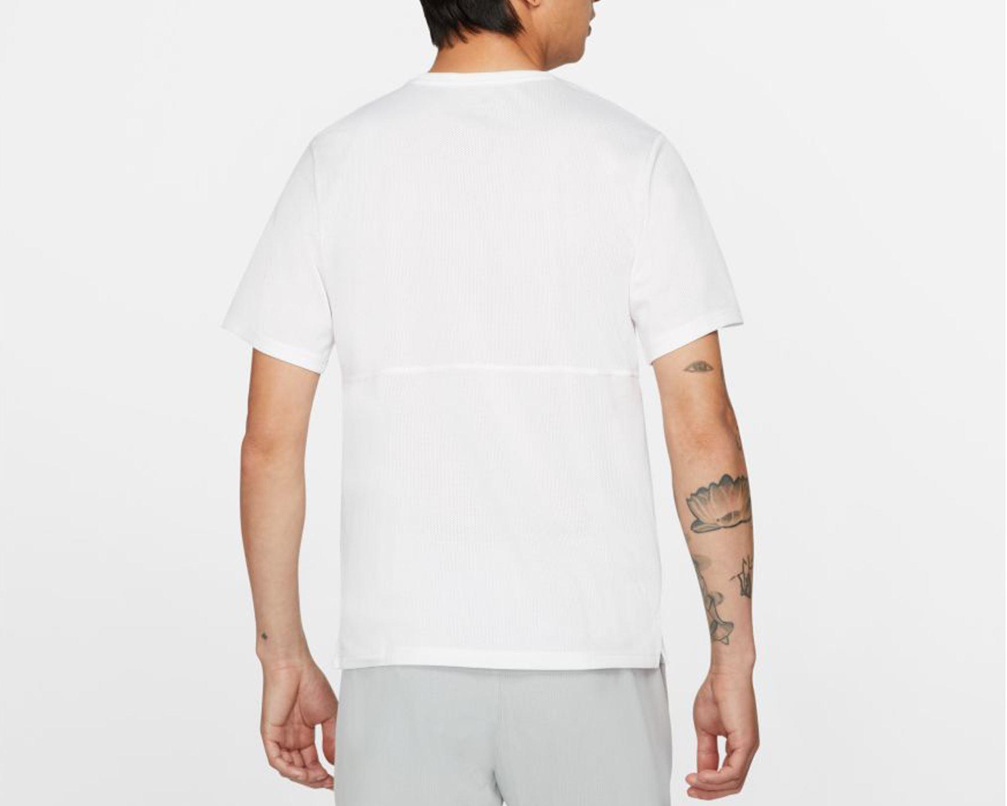 Breathe Erkek Beyaz Koşu Tişörtü (CJ5332-100)