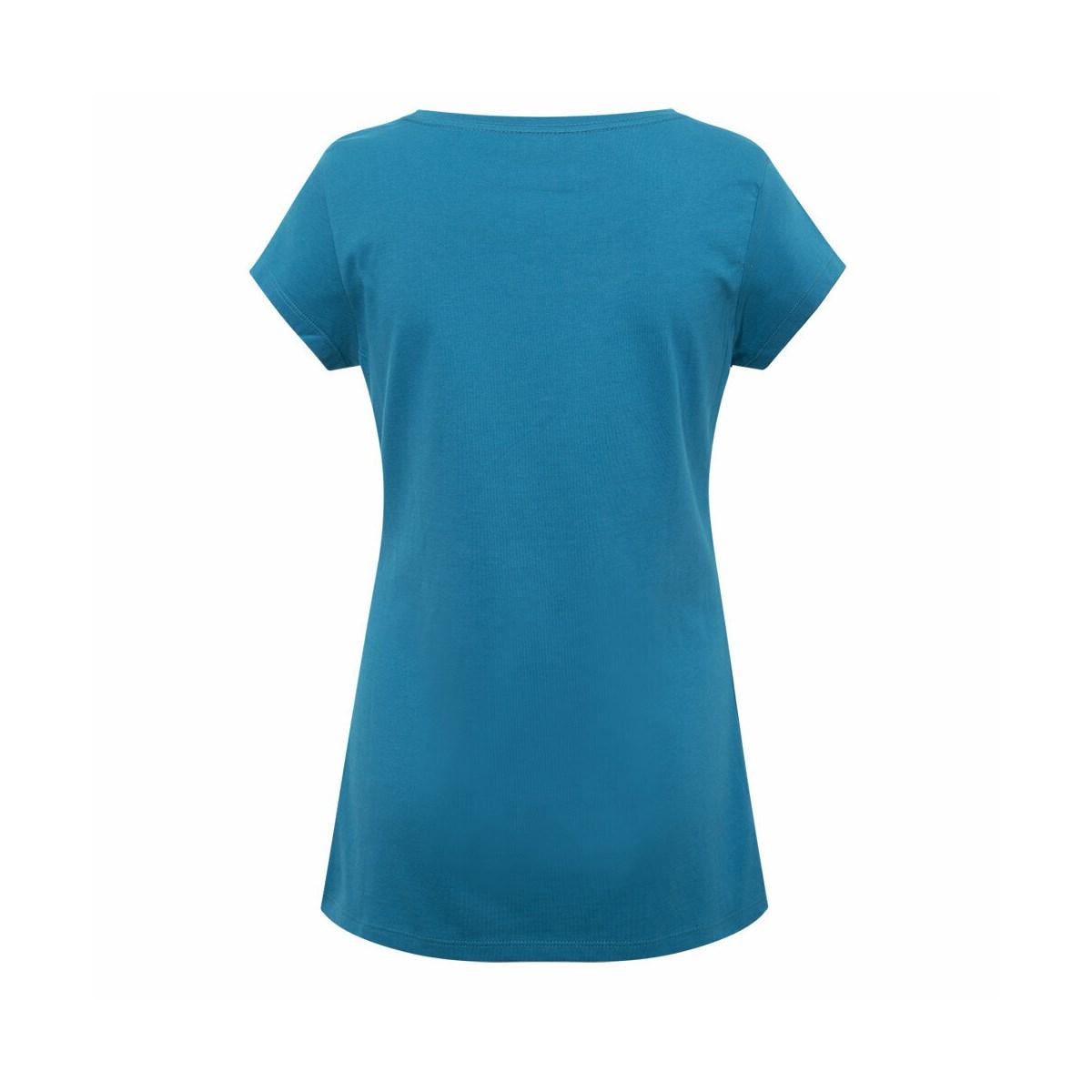 Csc W Brand Retro Kadın Mavi Tişört