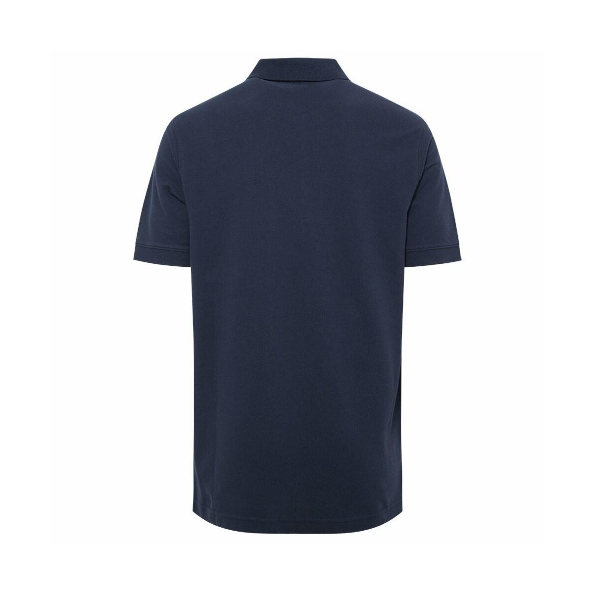 Cascade Range Solid Erkek Lacivert Polo Yaka Tişört