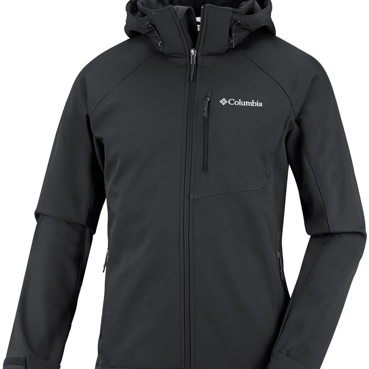Cascade Ridge II Softshell Erkek Siyah Ceket