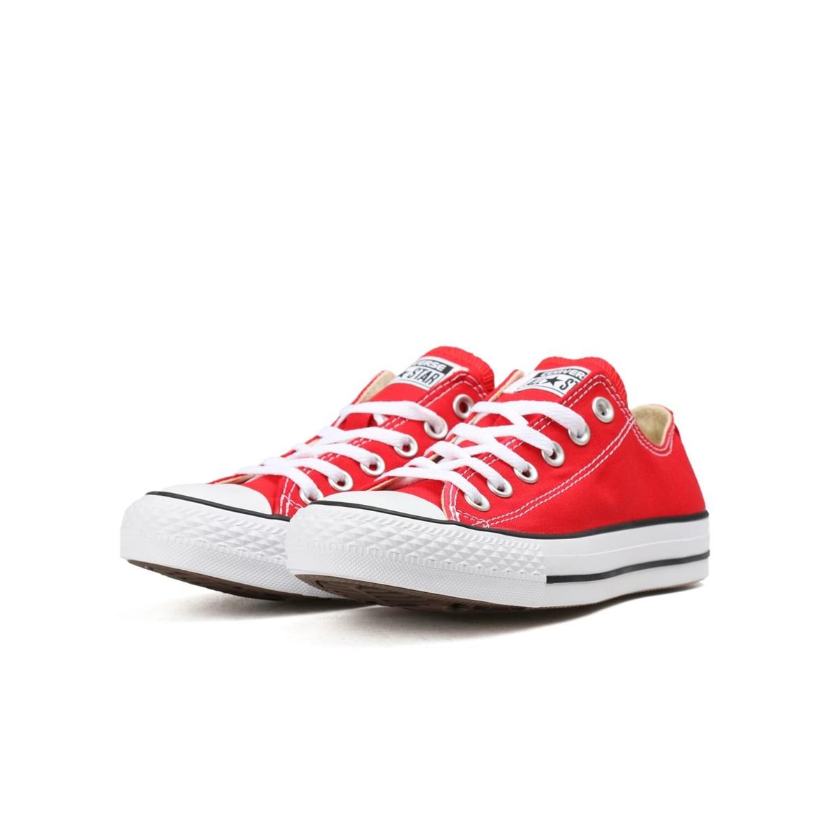 Chuck Taylor All Star Hi Kırmızı Bileksiz Ayakkabı