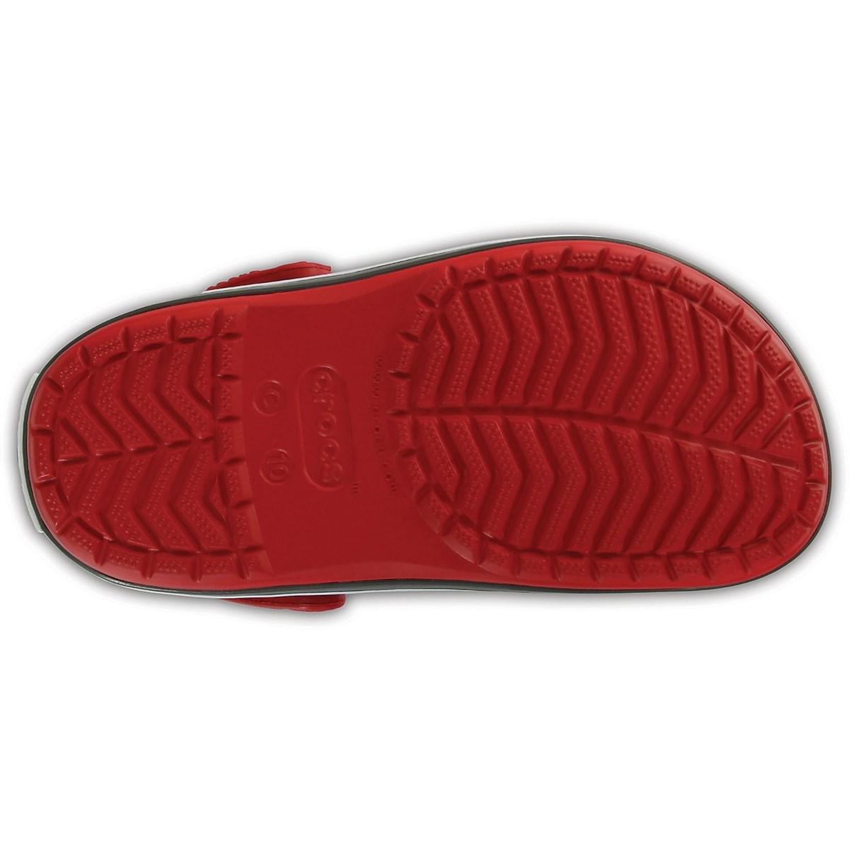 Crocband Clog Çocuk Kırmızı Terlik