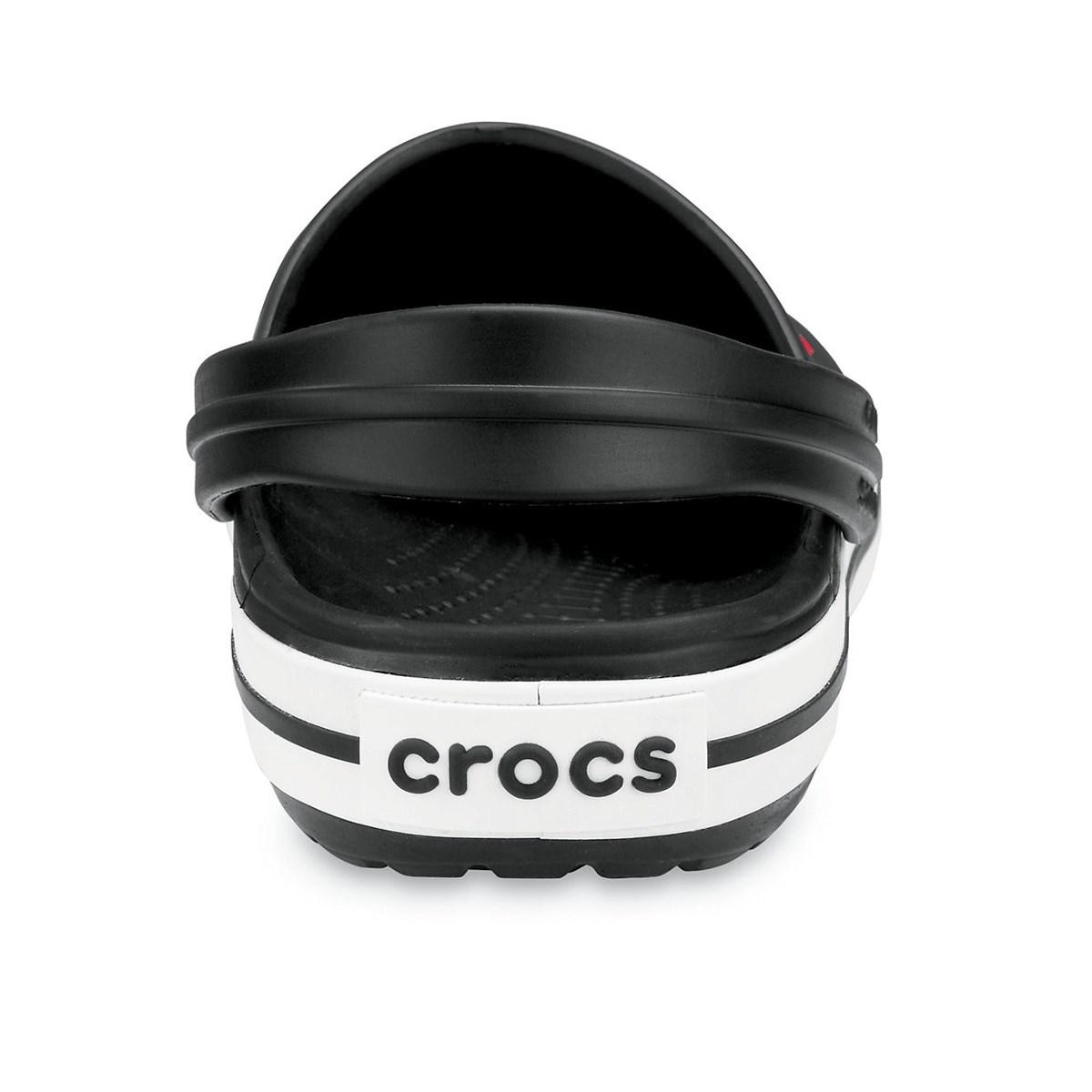 Crocband Siyah Kemerli Terlik