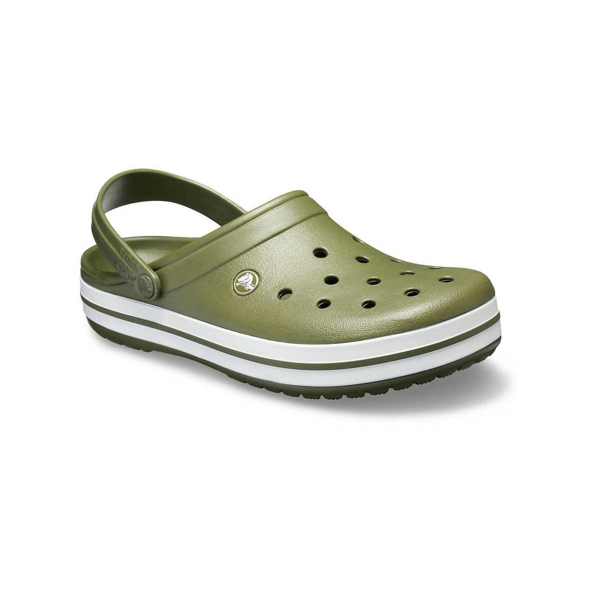 Crocband Erkek Yeşil Kemerli Terlik