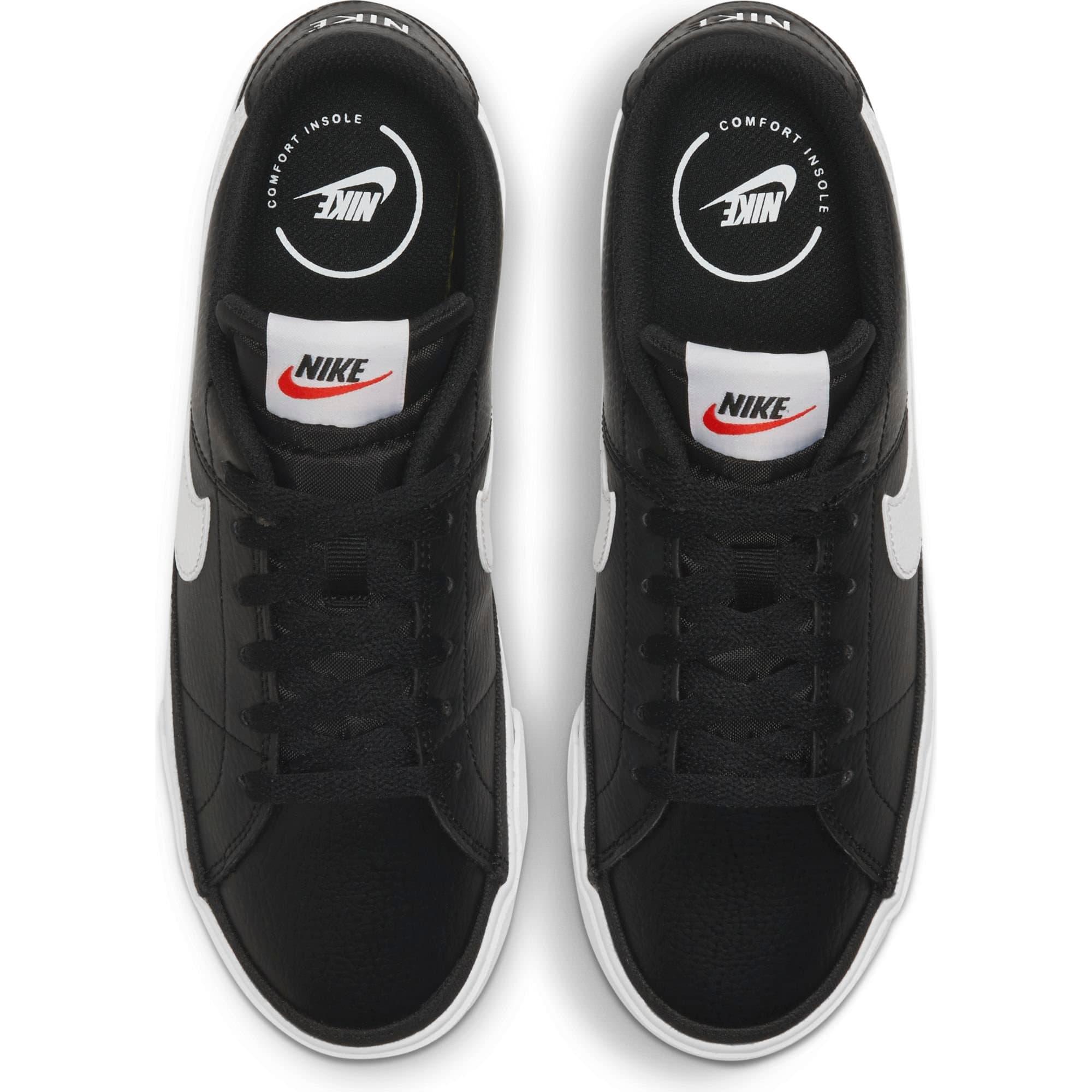 Court Legacy Kadın Siyah Spor Ayakkabı (CU4149-001)