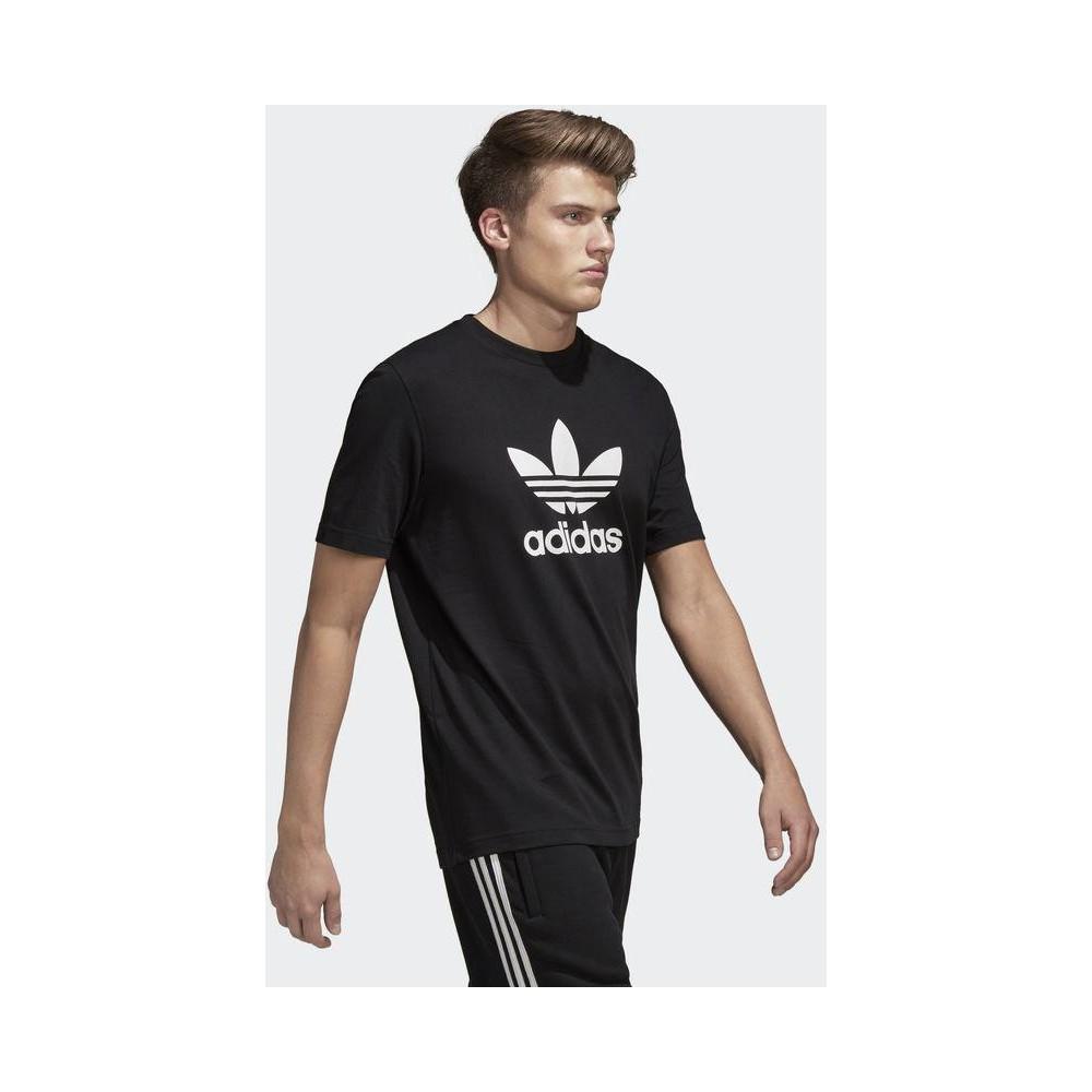 adidas Trefoil Erkek Siyah Tişört (CW0709)