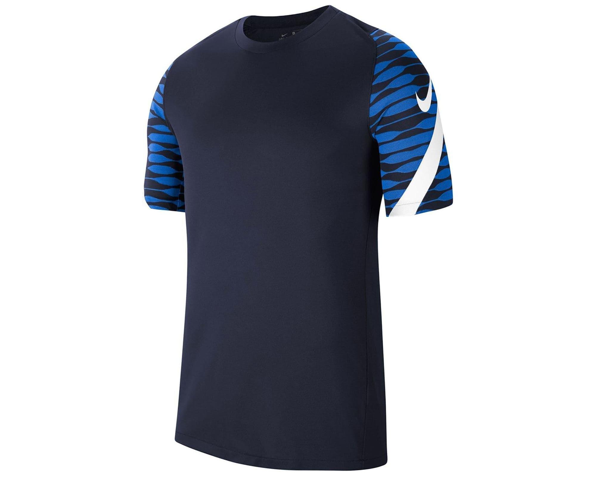 Dri-Fit Strike 21 Erkek Mavi Futbol Tişört (CW5843-451)