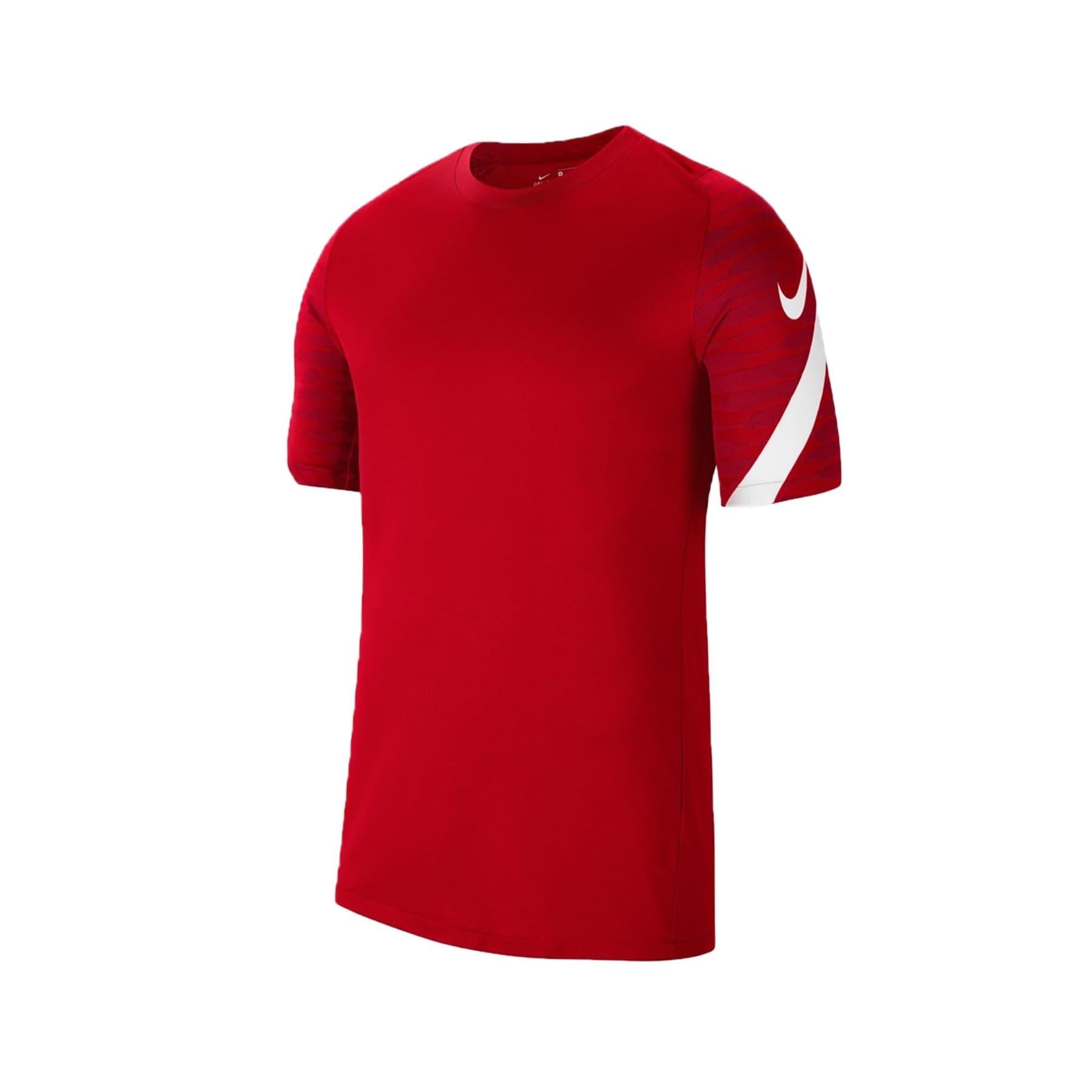 Dri-Fit Strike 21 Erkek Kırmızı Spor Tişört (CW5843-657)