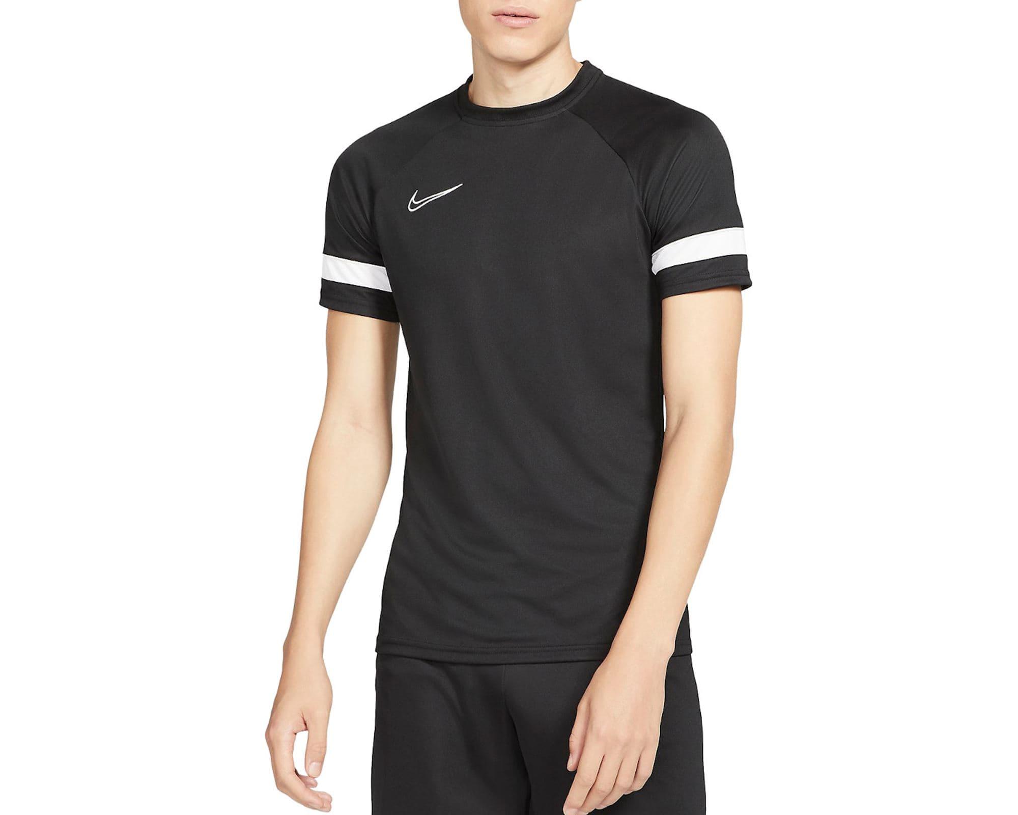 Academy 21 Erkek Siyah Futbol Tişört (CW6101-010)