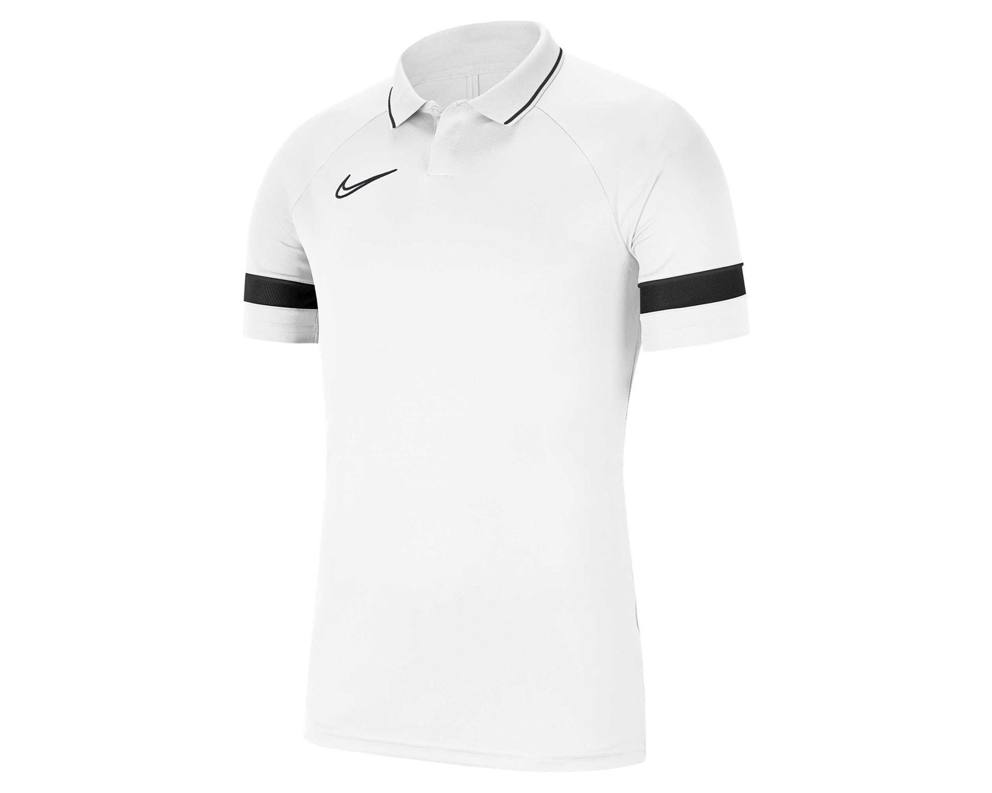 Academy 21 Erkek Beyaz Polo Tişört (CW6104-100)