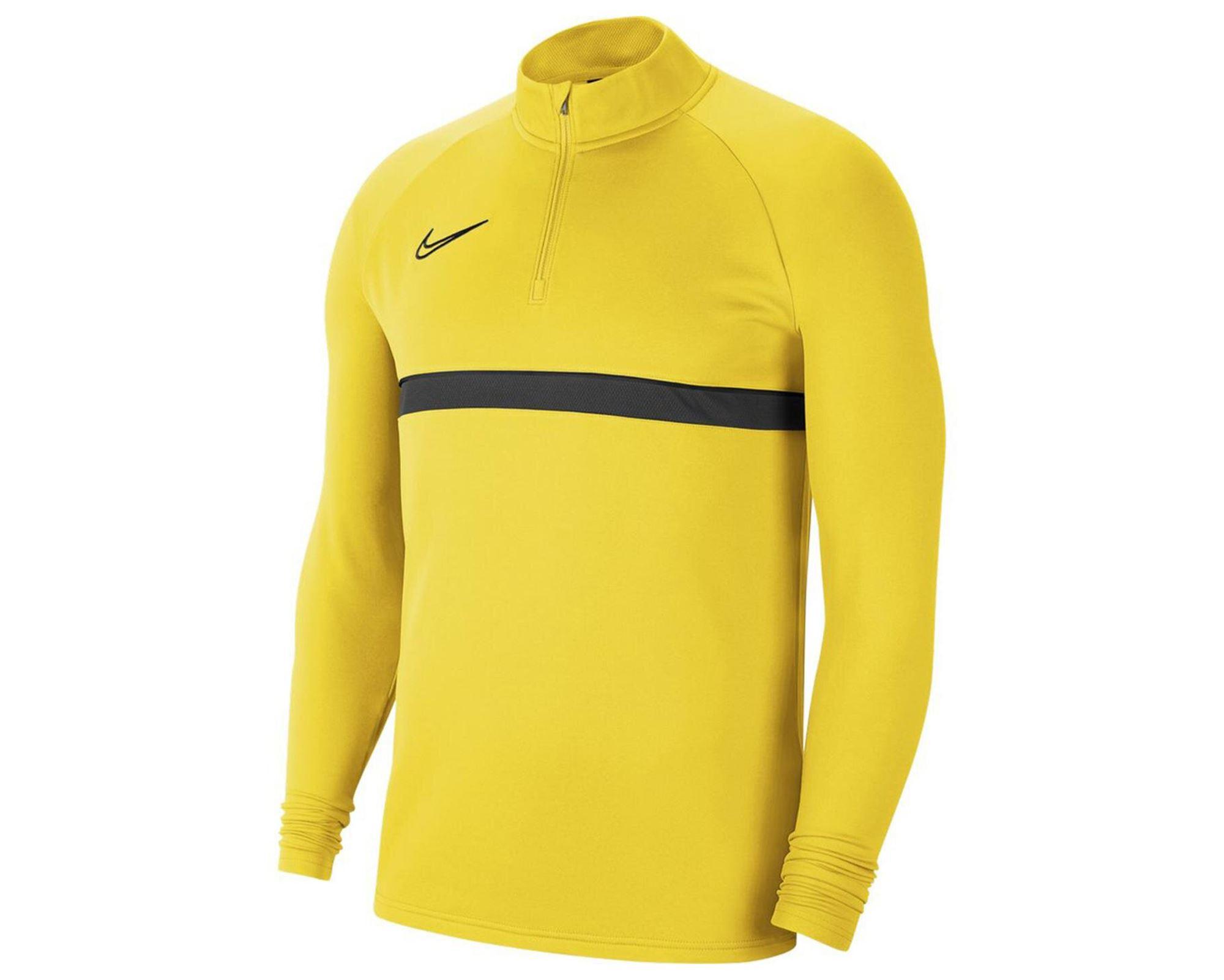 Academy 21 Erkek Sarı Uzun Kollu Tişört (CW6110-719)