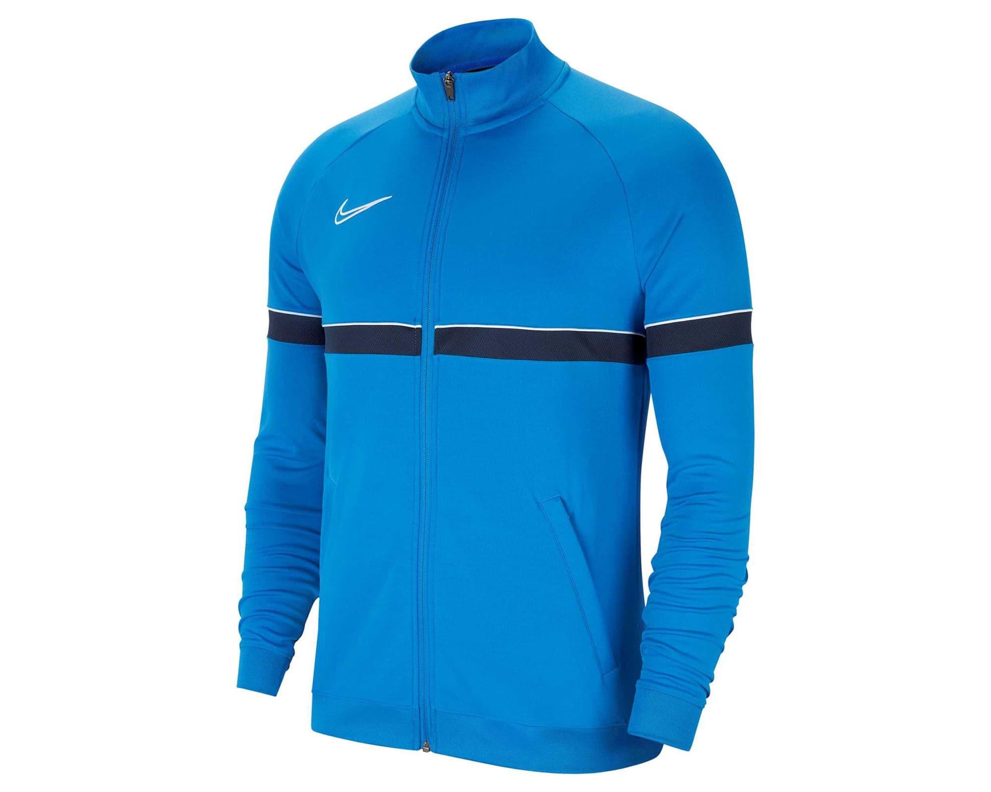 Academy 21 Erkek Mavi Futbol Ceket (CW6113-463)