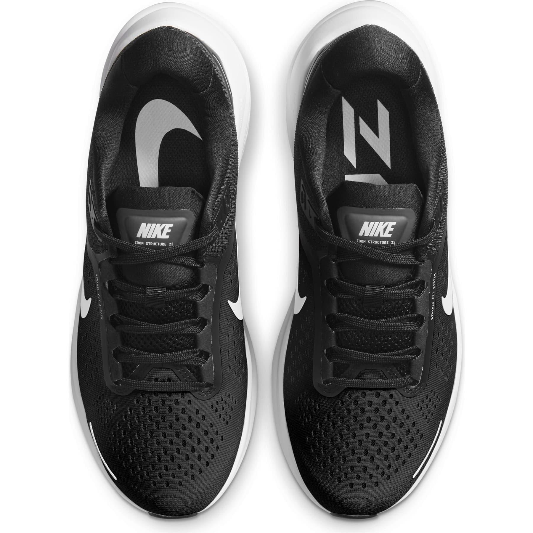 Air Zoom Structure 23 Kadın Siyah Koşu Ayakkabısı (CZ6721-001)