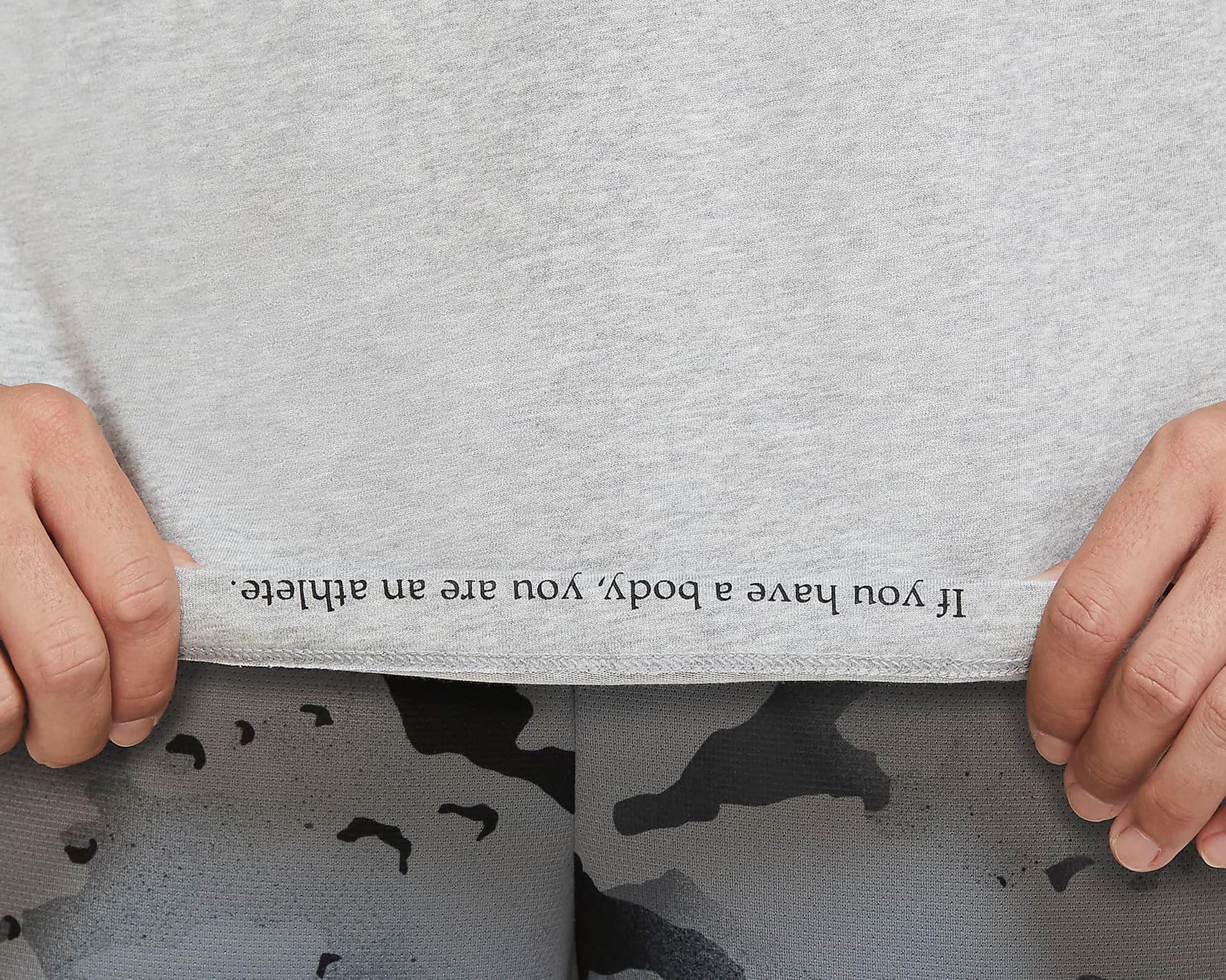 Dri-Fit Erkek Gri Antrenman Tişörtü (CZ7989-063)